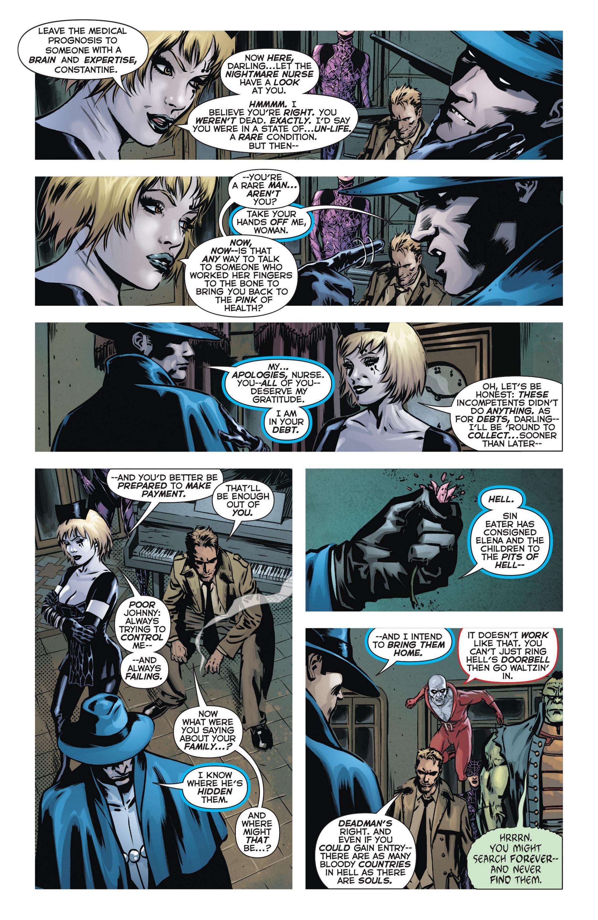 Read online Trinity of Sin: The Phantom Stranger comic -  Issue #9 - 6
