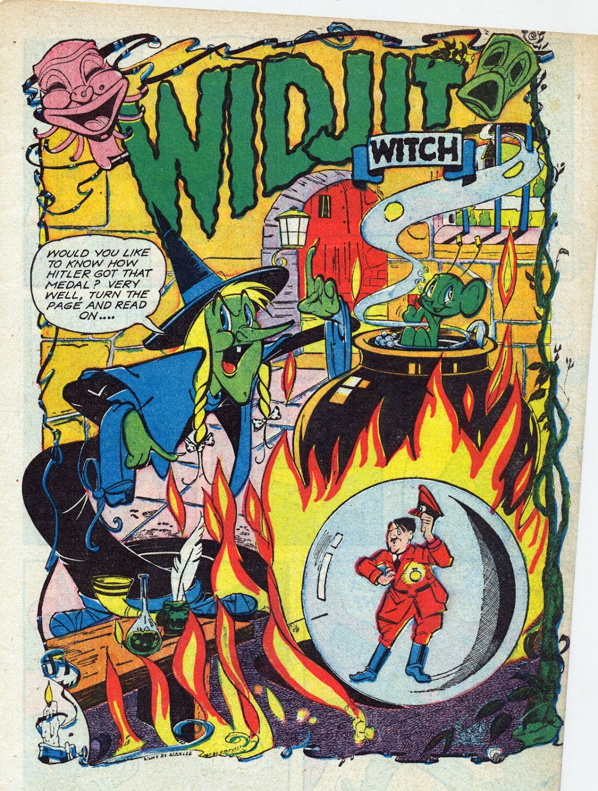 Read online Comedy Comics (1942) comic -  Issue #13 - 4