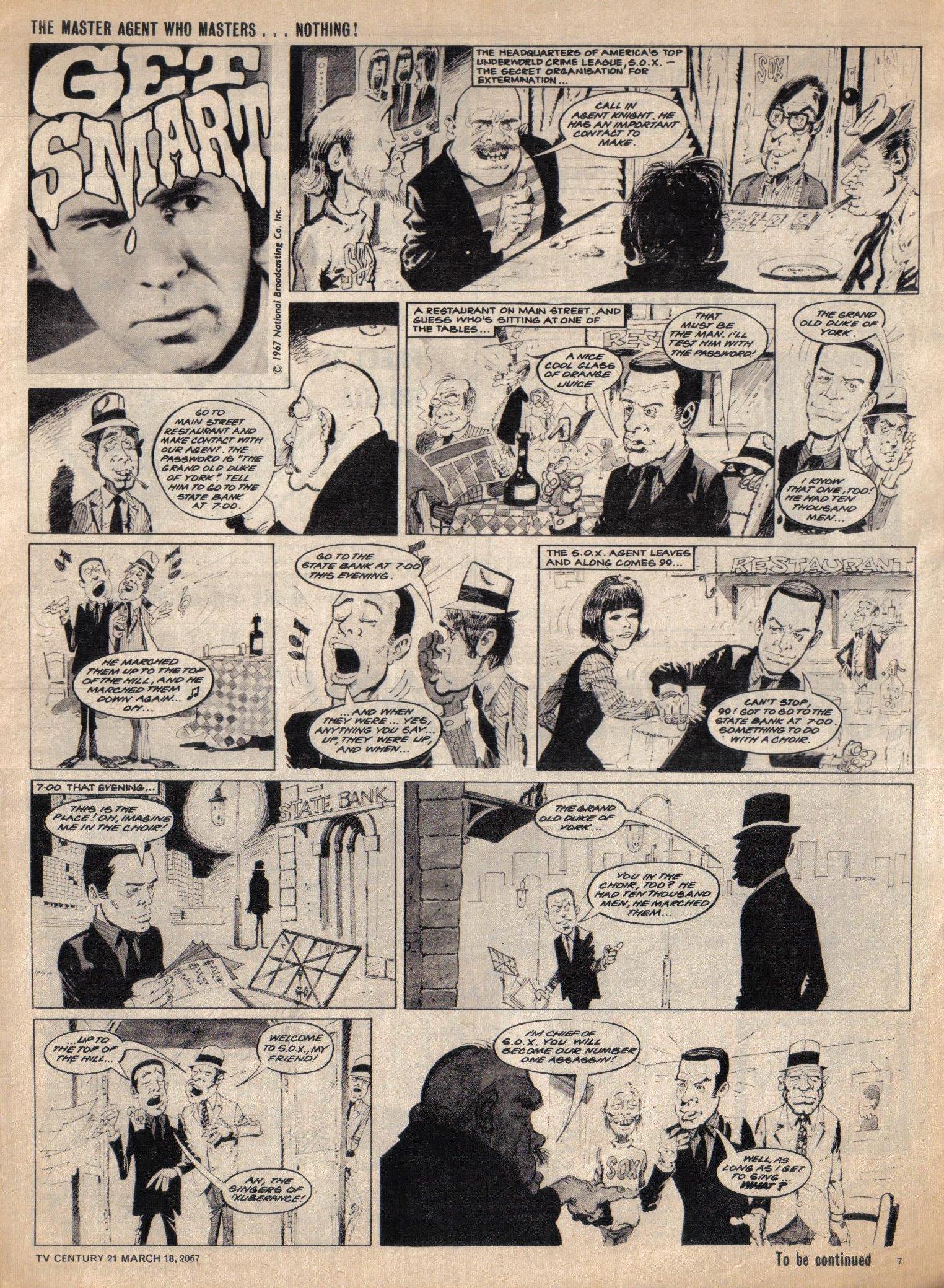 Read online TV Century 21 (TV 21) comic -  Issue #113 - 7