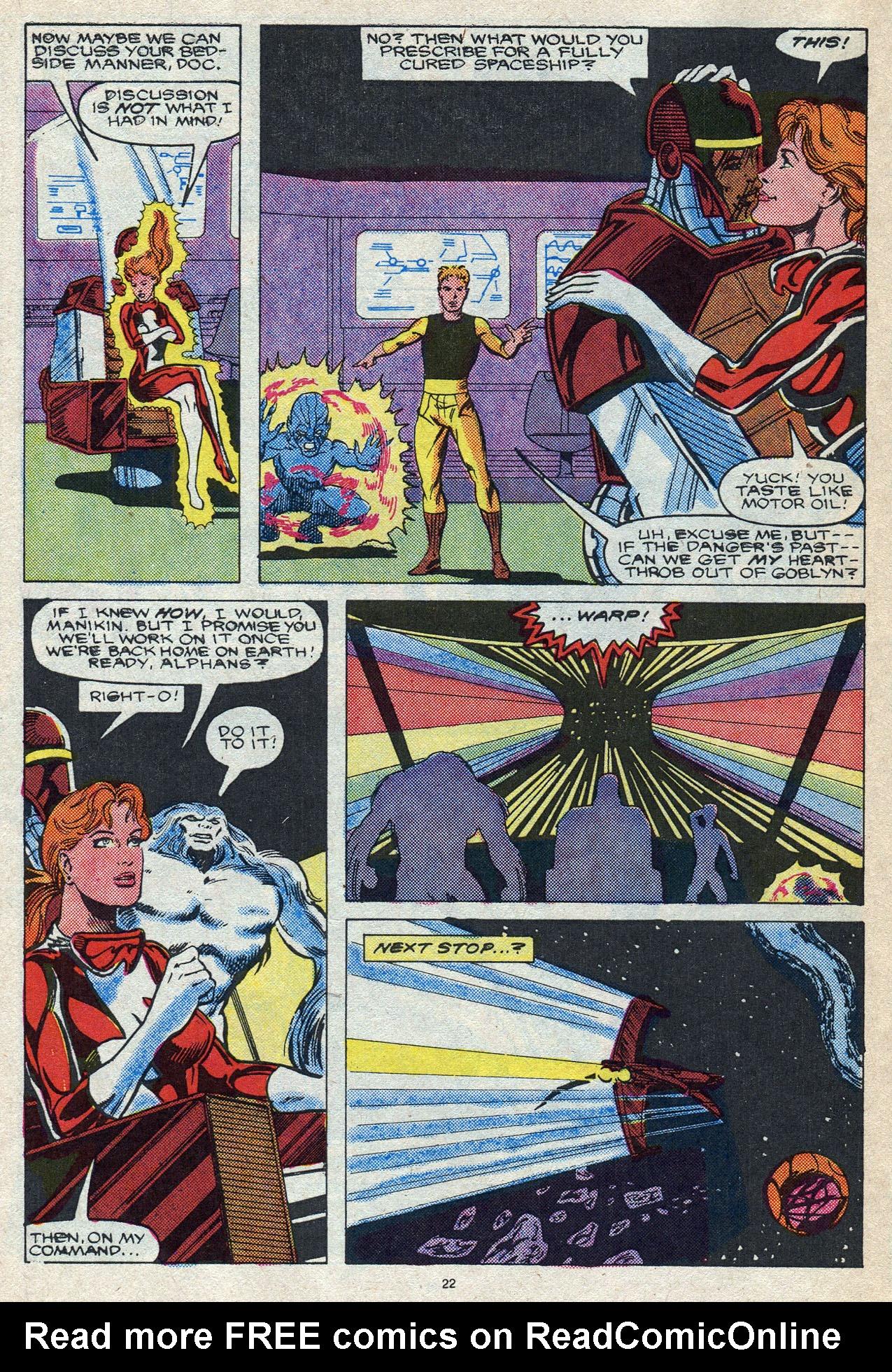 Read online Alpha Flight (1983) comic -  Issue #56 - 31