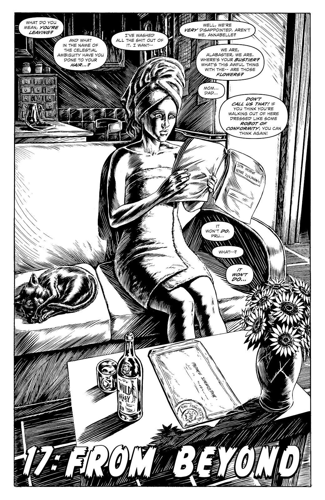 Read online Alan Moore's Cinema Purgatorio comic -  Issue #17 - 15