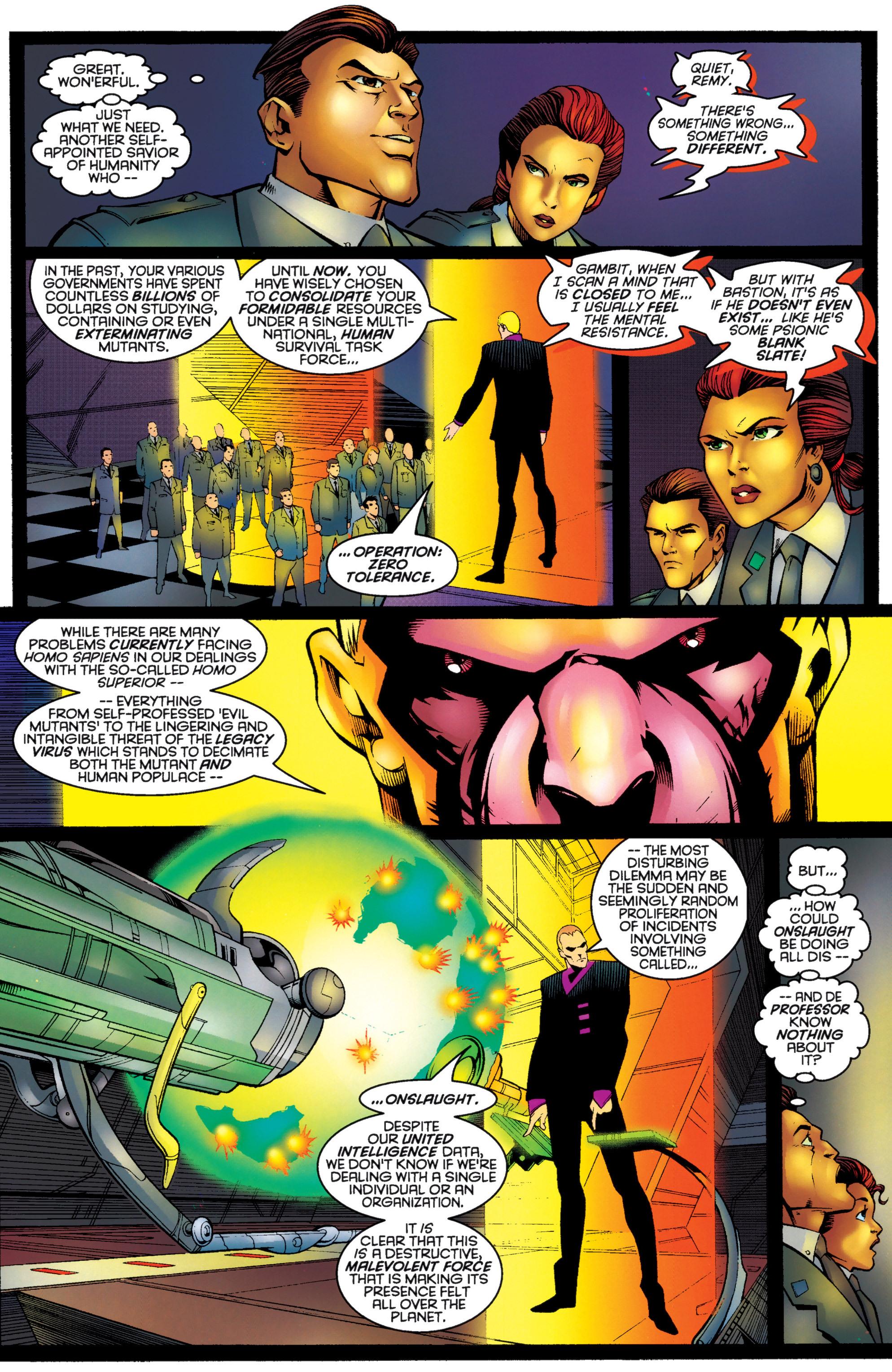 Read online Uncanny X-Men (1963) comic -  Issue #333 - 11