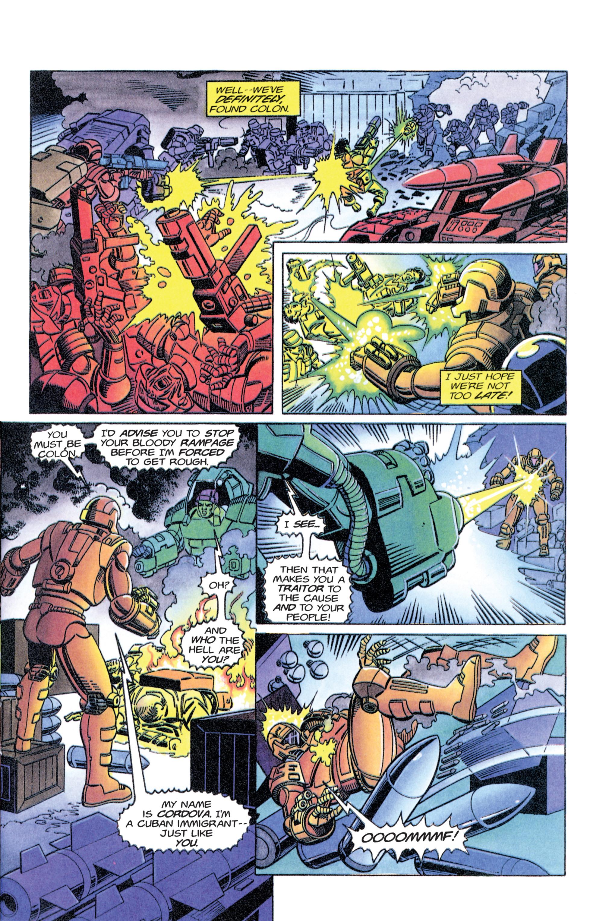 Read online Armorines comic -  Issue #11 - 14