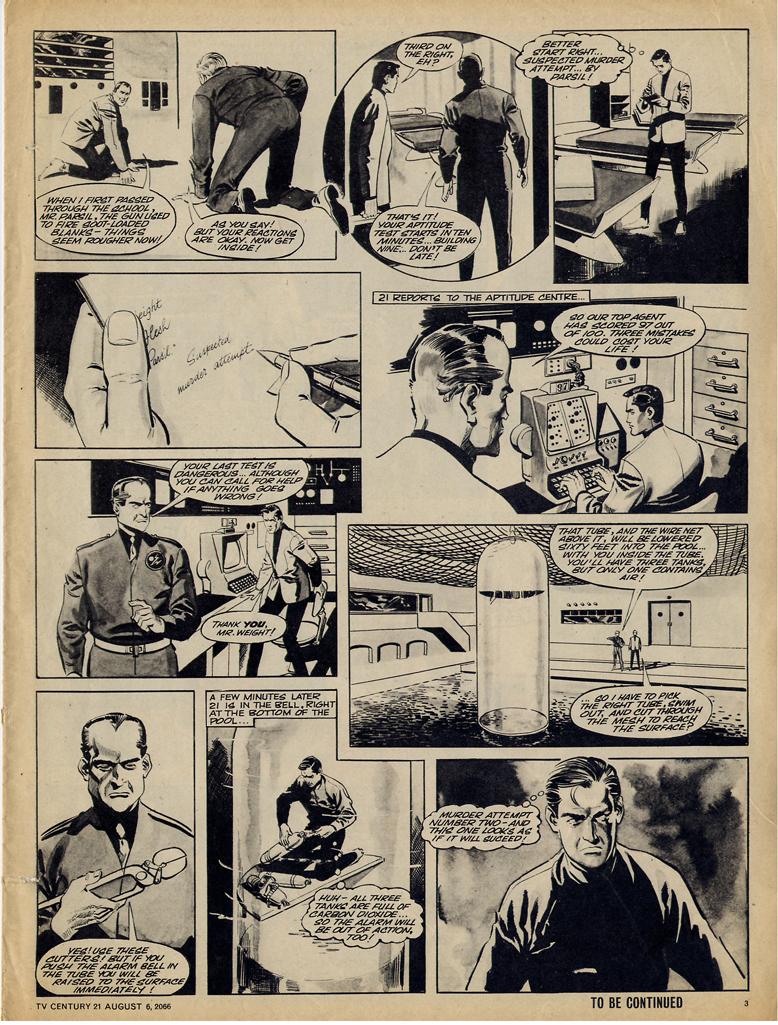 Read online TV Century 21 (TV 21) comic -  Issue #81 - 3