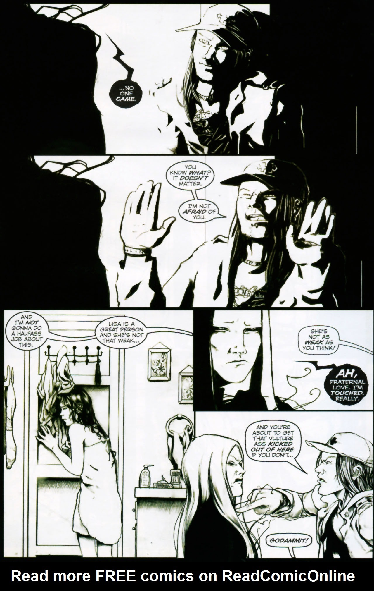 In Her Darkest Hour Full Page 18