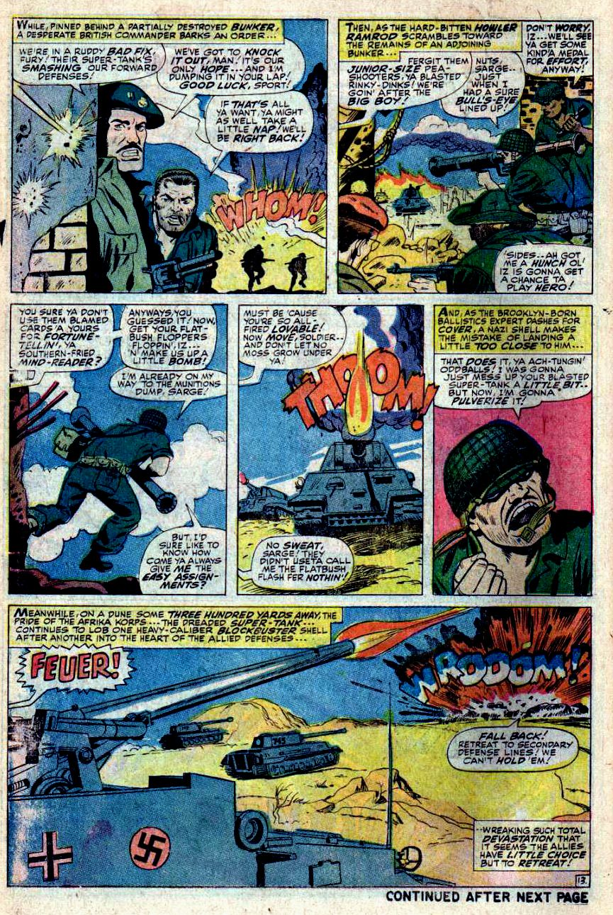Read online Sgt. Fury comic -  Issue #43 - 18