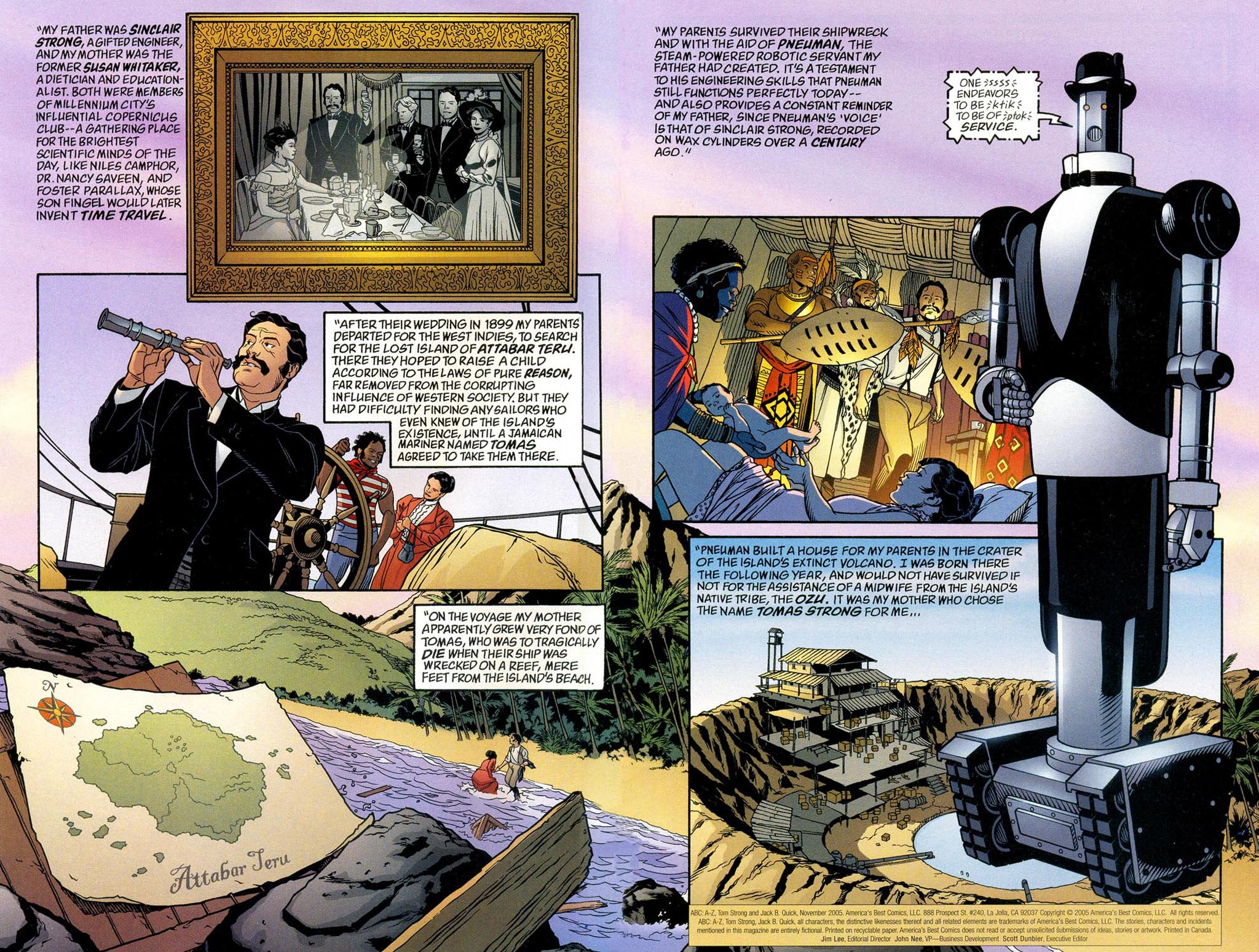 Read online ABC: A-Z, Tom Strong and Jack B. Quick comic -  Issue #ABC: A-Z, Tom Strong and Jack B. Quick Full - 3