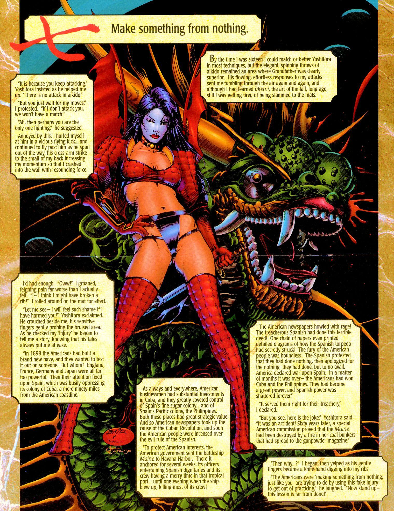 Read online Shi: Senryaku comic -  Issue #1 - 12