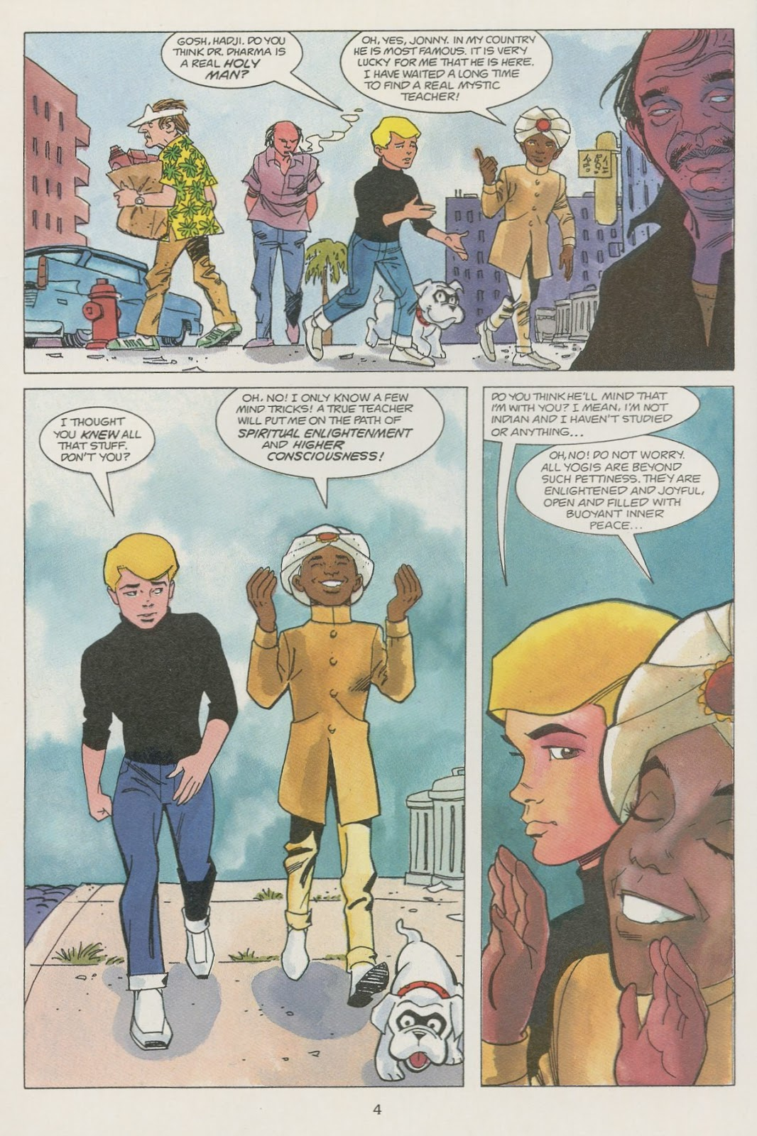 Jonny Quest (1986) issue 19 - Page 6