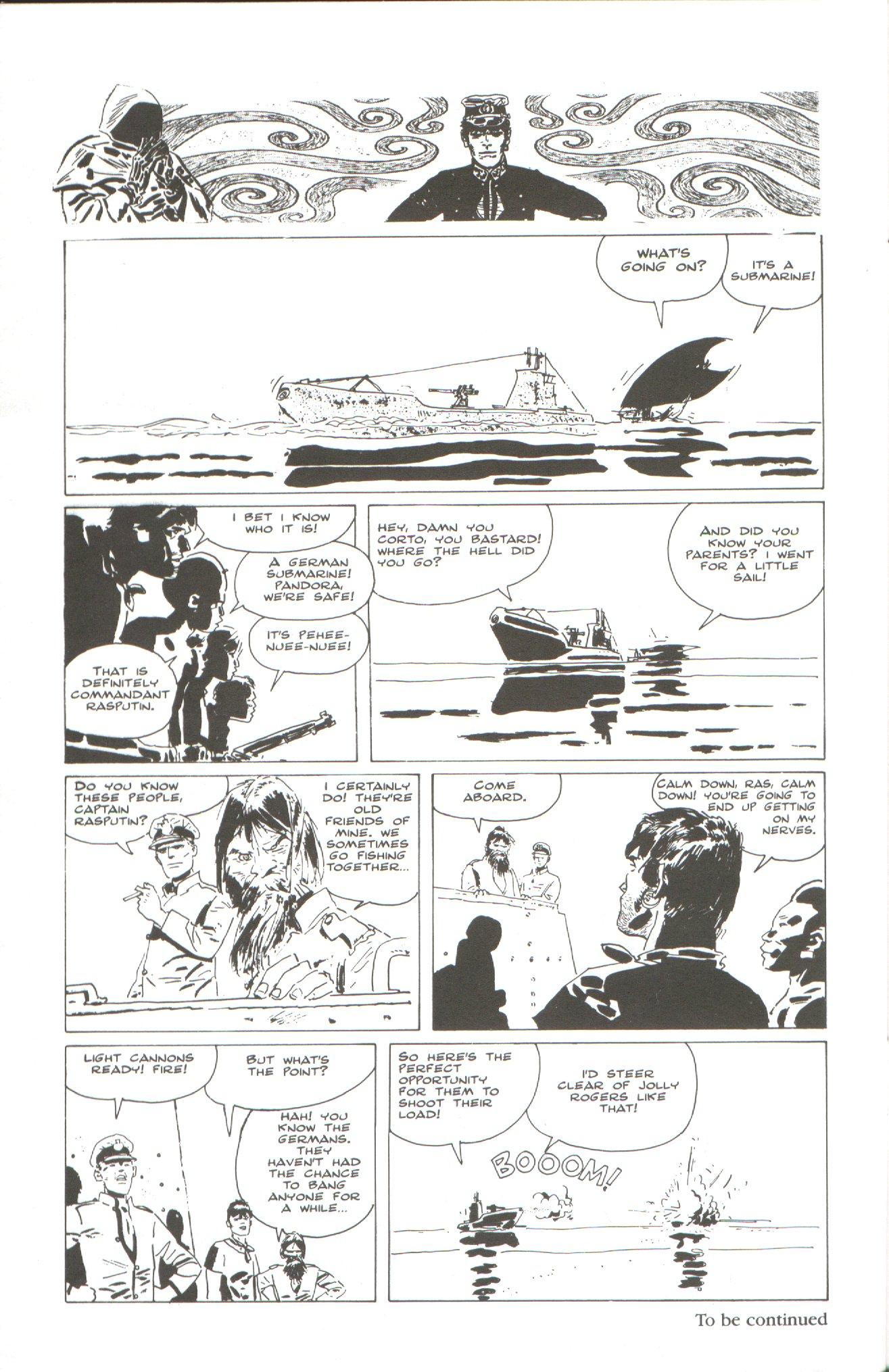 Read online Corto Maltese: Ballad of the Salt Sea comic -  Issue #2 - 26