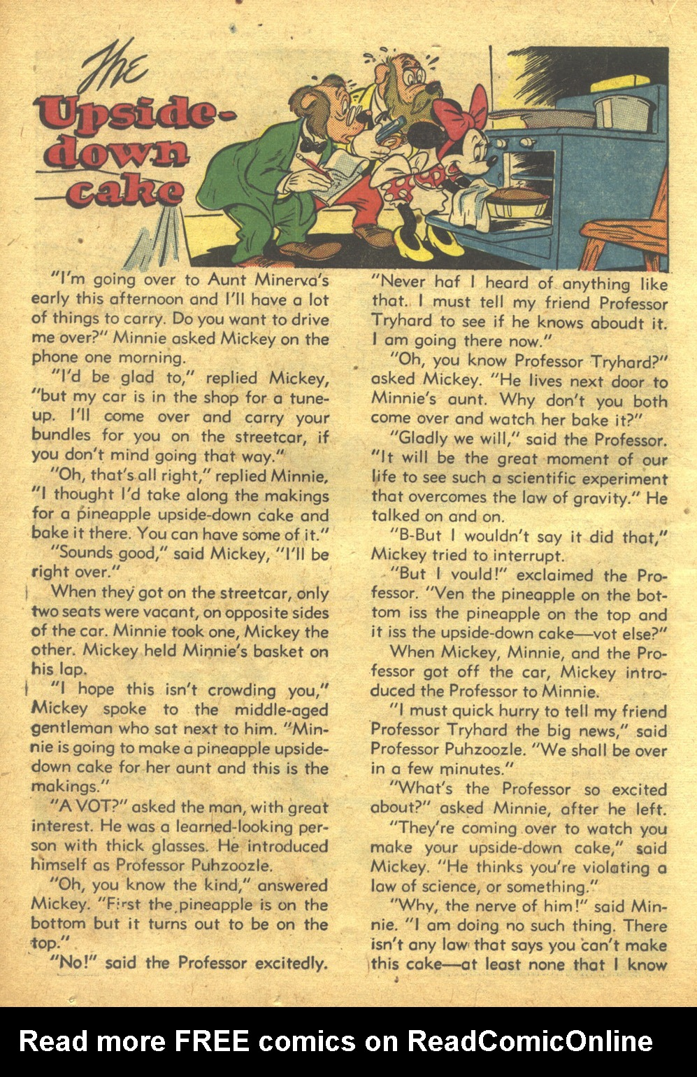 Walt Disney's Comics and Stories issue 103 - Page 34