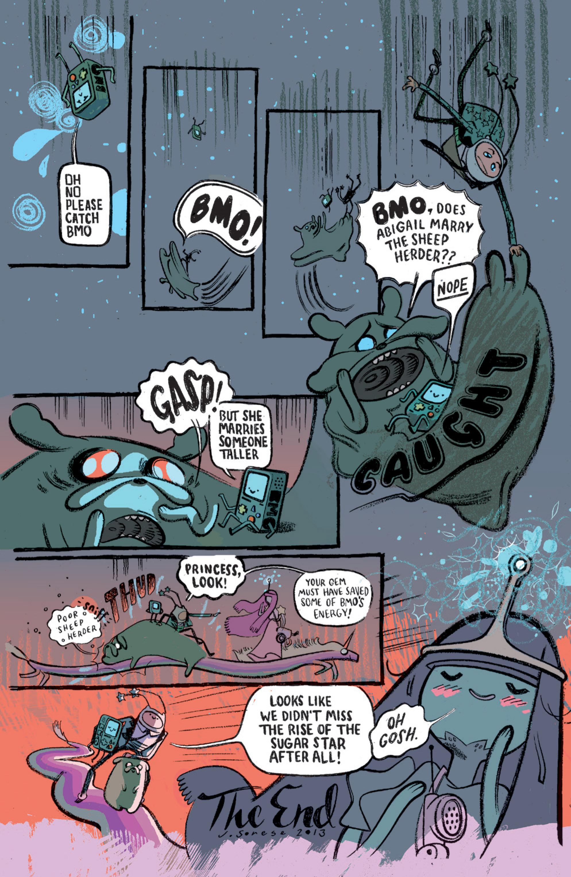 Read online Adventure Time comic -  Issue #15 - 28