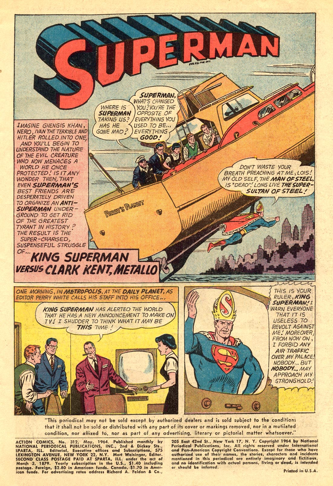 Read online Action Comics (1938) comic -  Issue #312 - 3