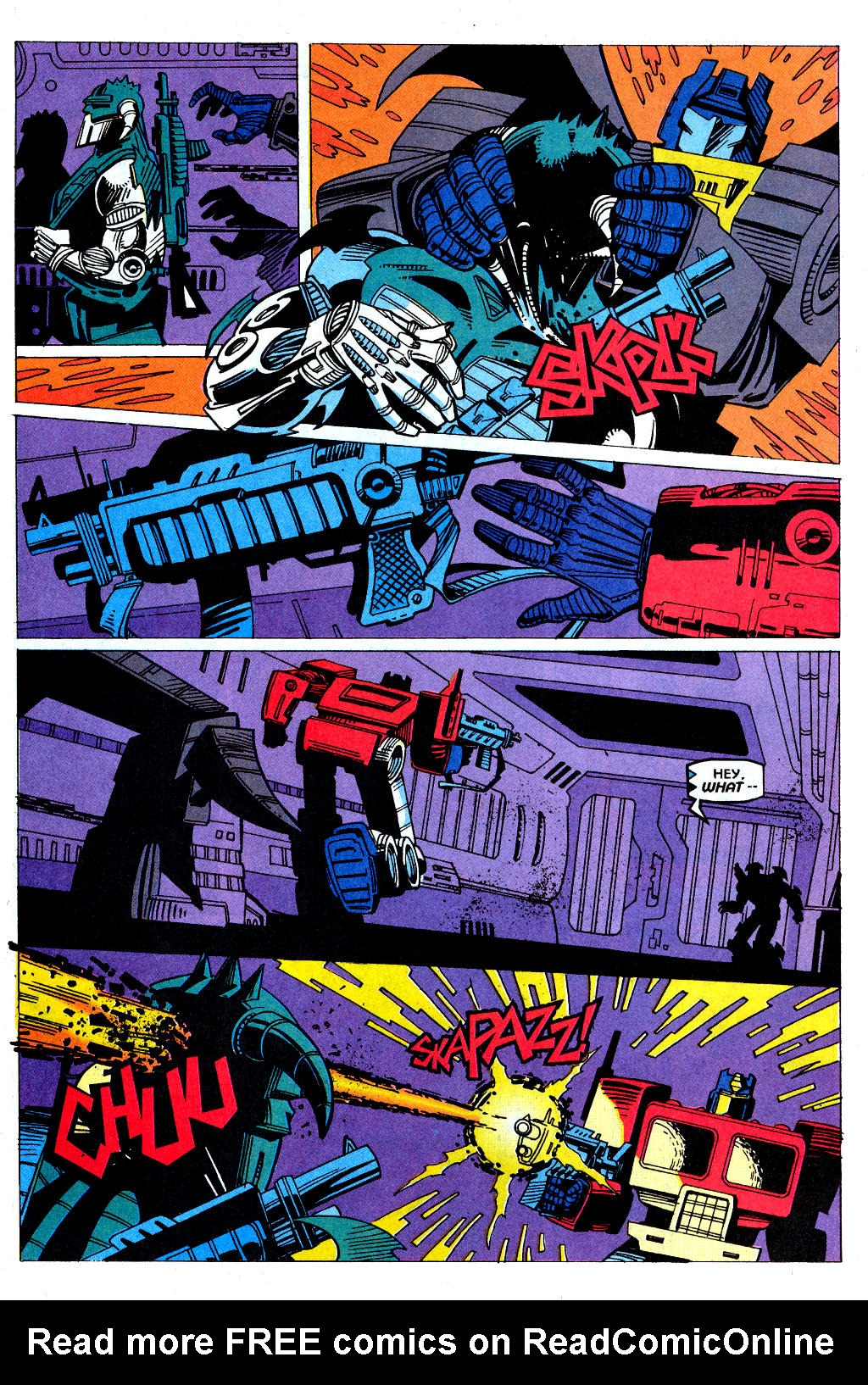 Read online Transformers: Generation 2 comic -  Issue #1 - 31