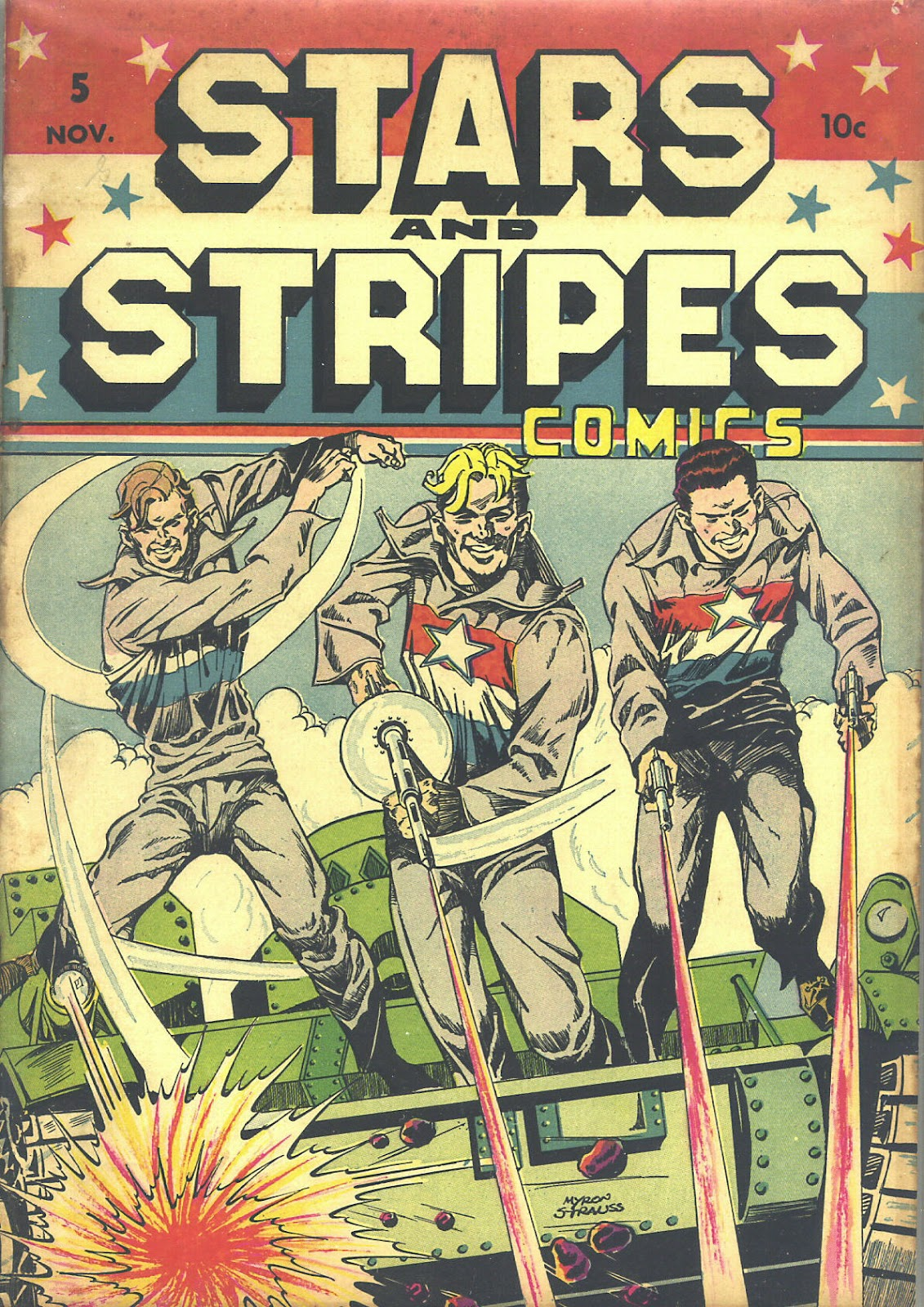 Stars and Stripes Comics 5 Page 1
