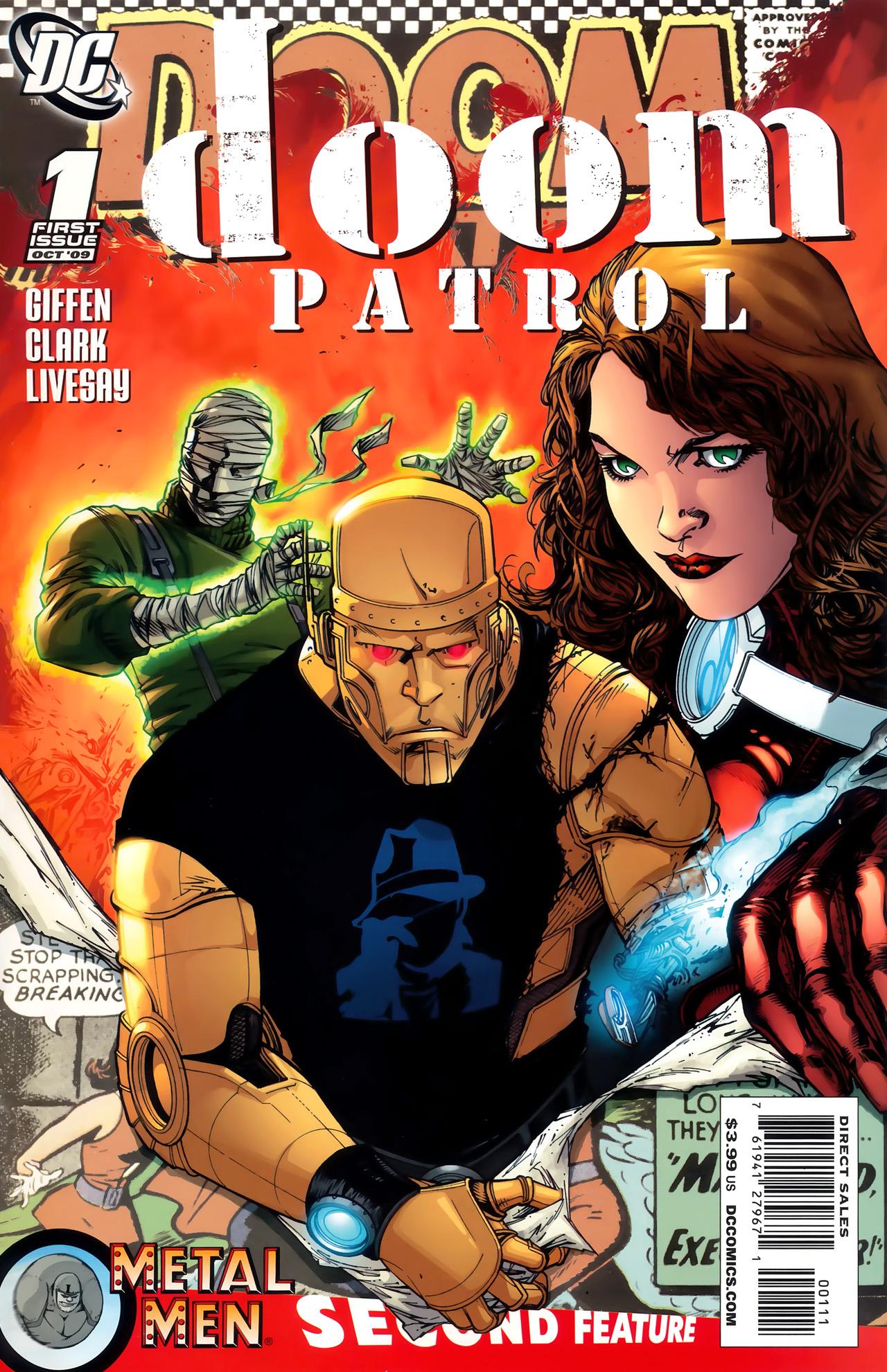 Doom Patrol (2009) 1 Page 1