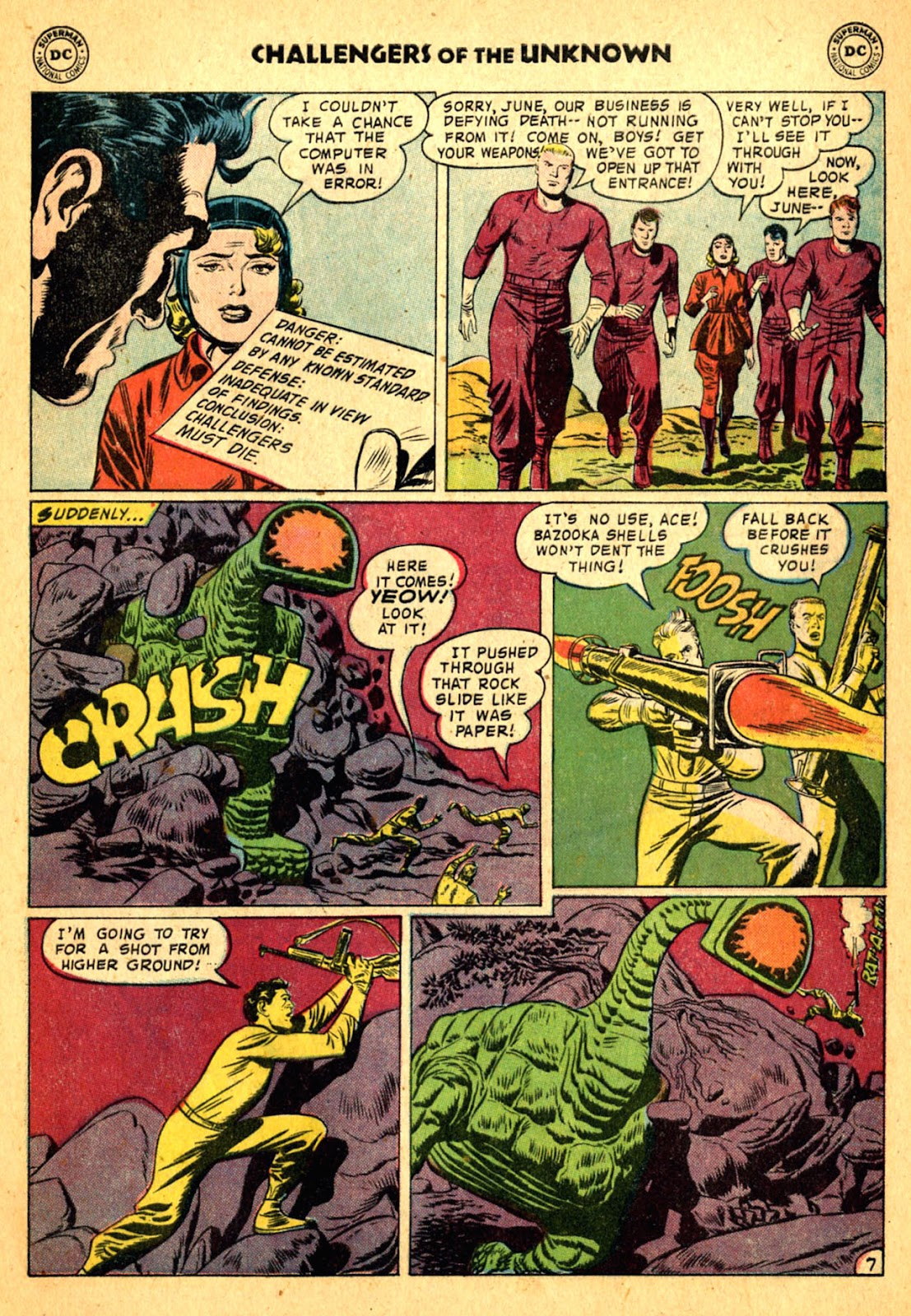 Challengers of the Unknown (1958) issue 2 - Page 9