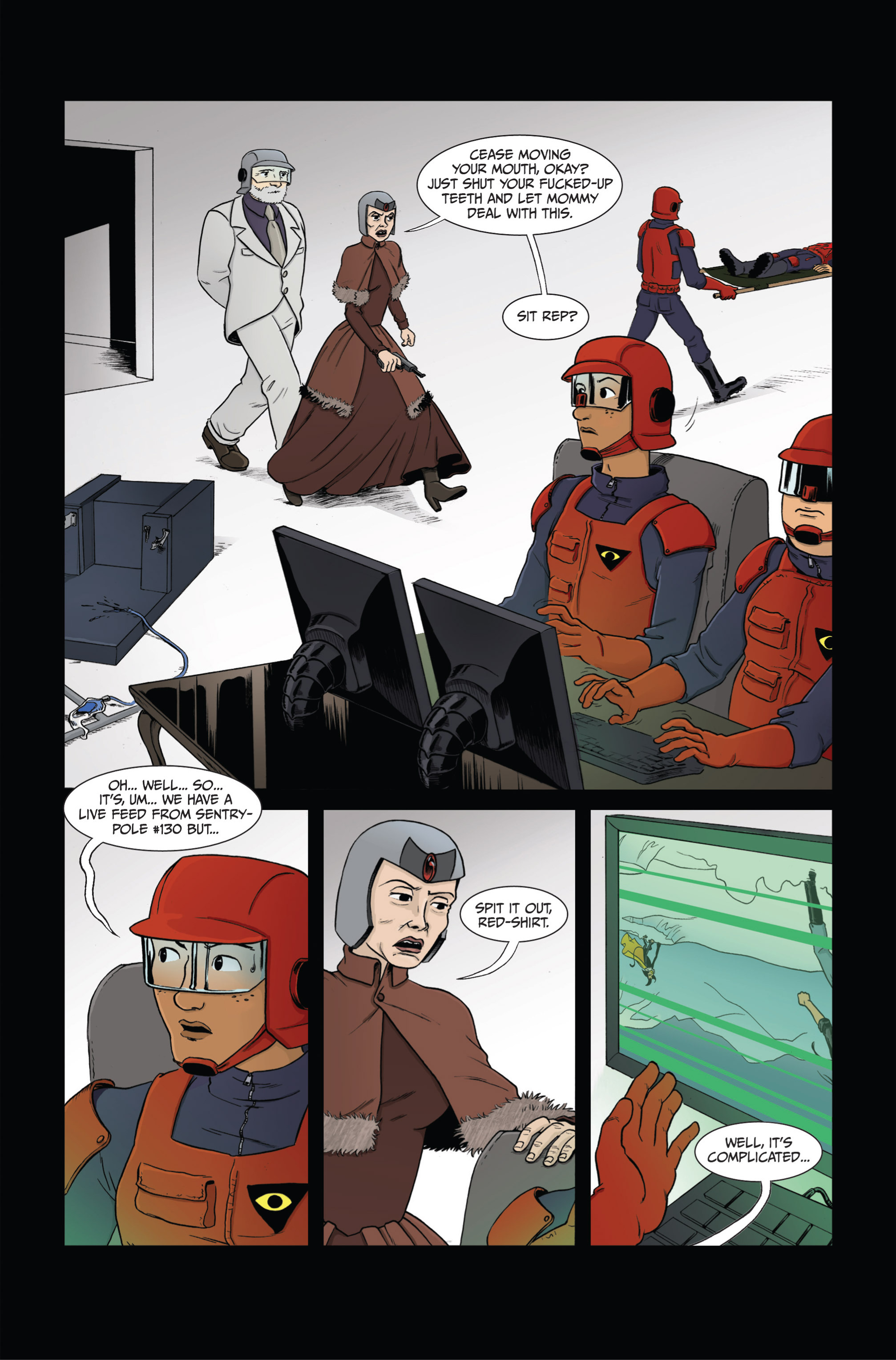 Read online Ehmm Theory: Everything & Small Doses comic -  Issue #4 - 4