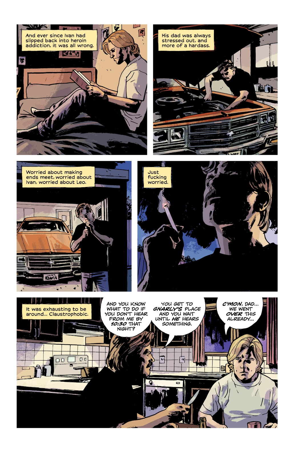Read online Criminal (2019) comic -  Issue #9 - 12