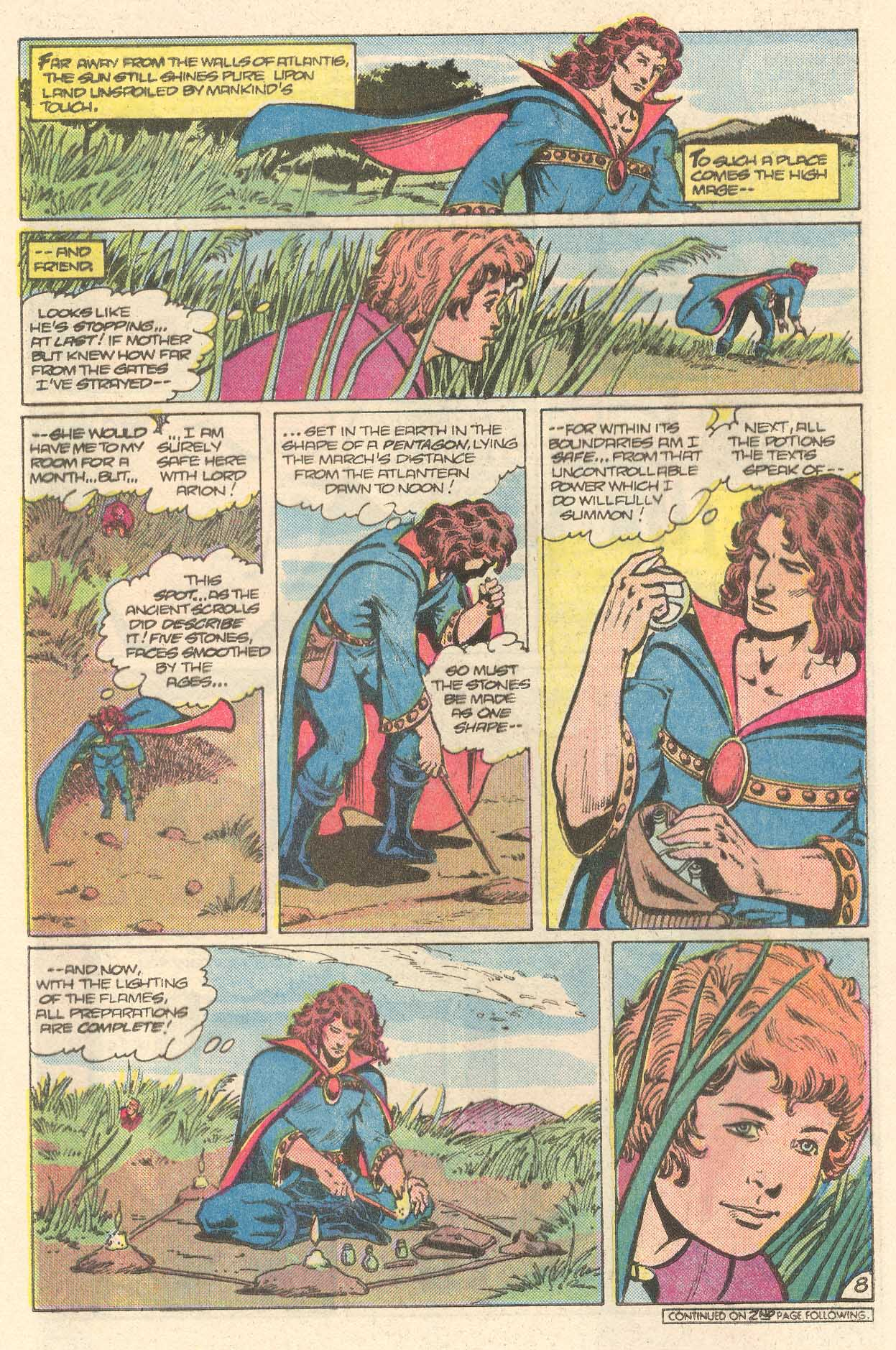 Read online Arion, Lord of Atlantis comic -  Issue #28 - 9