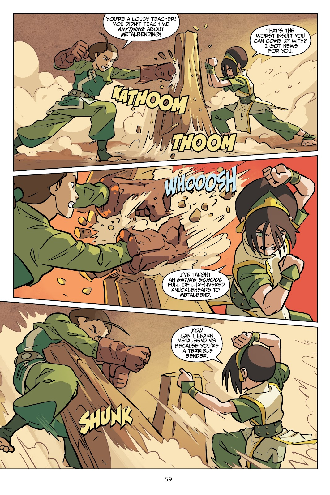 Read online Nickelodeon Avatar: The Last Airbender - Imbalance comic -  Issue # TPB 2 - 60