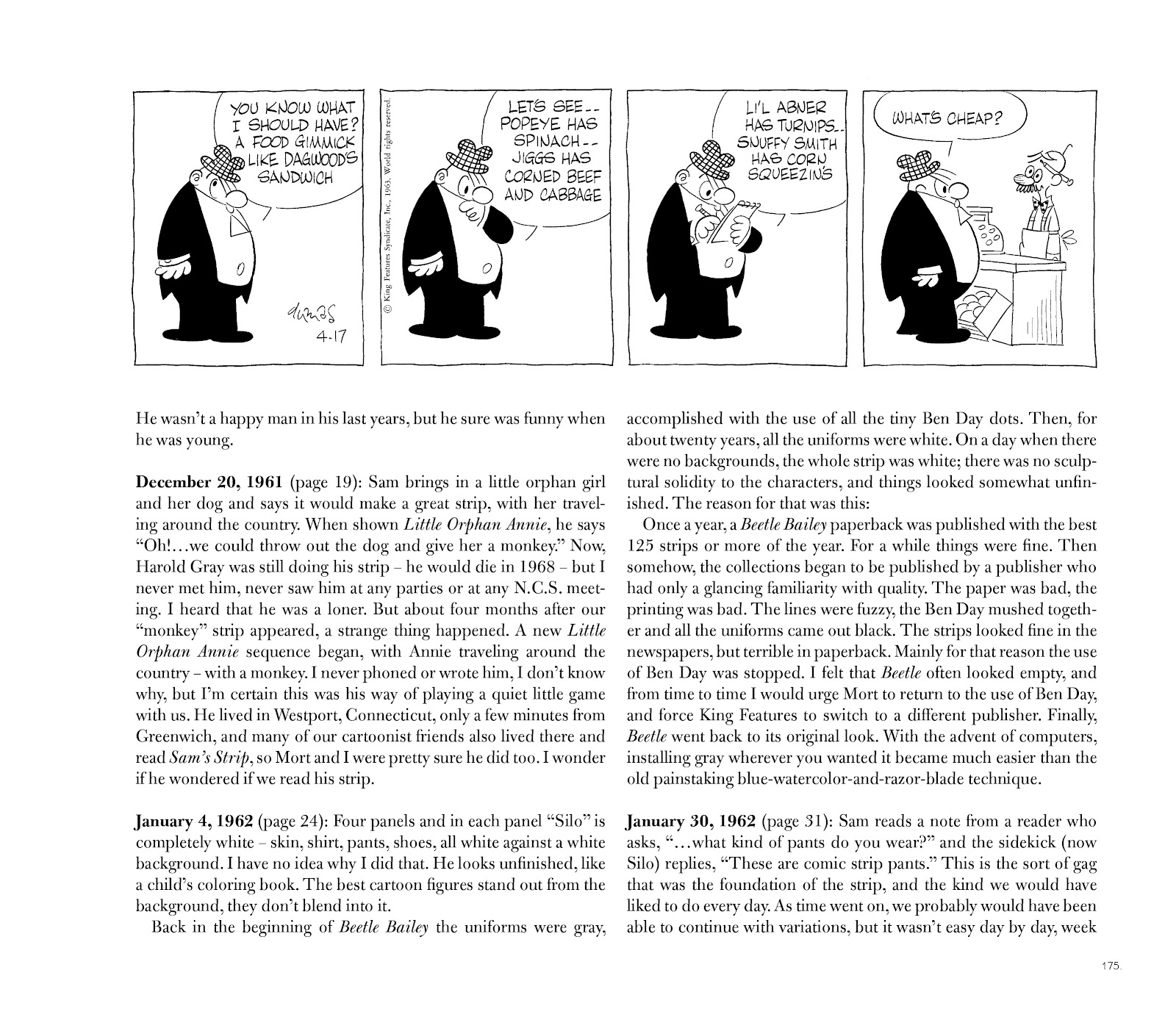 Read online Sam's Strip: The Comic About Comics comic -  Issue # TPB (Part 2) - 90