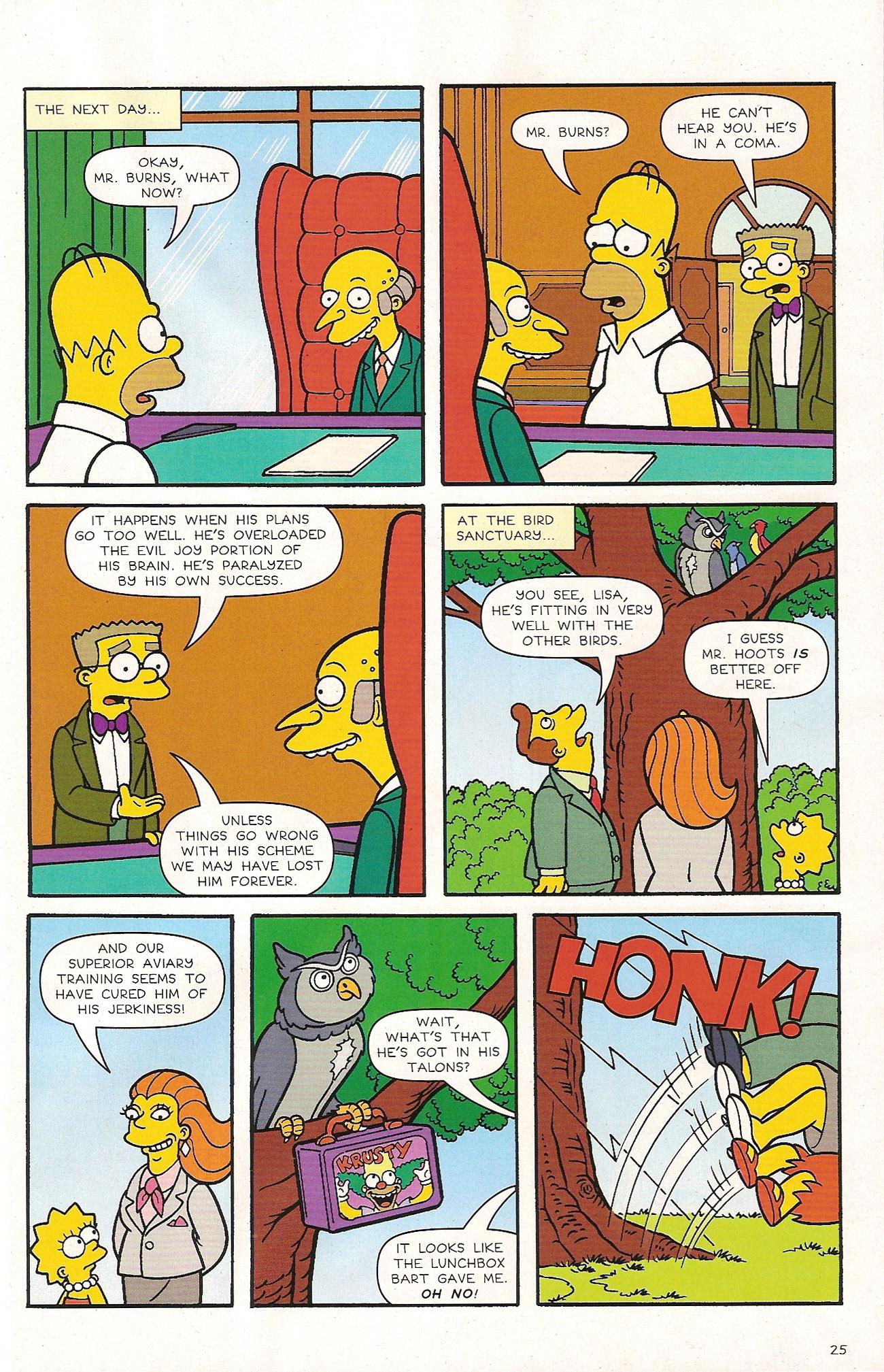 Read online Simpsons Comics comic -  Issue #174 - 27