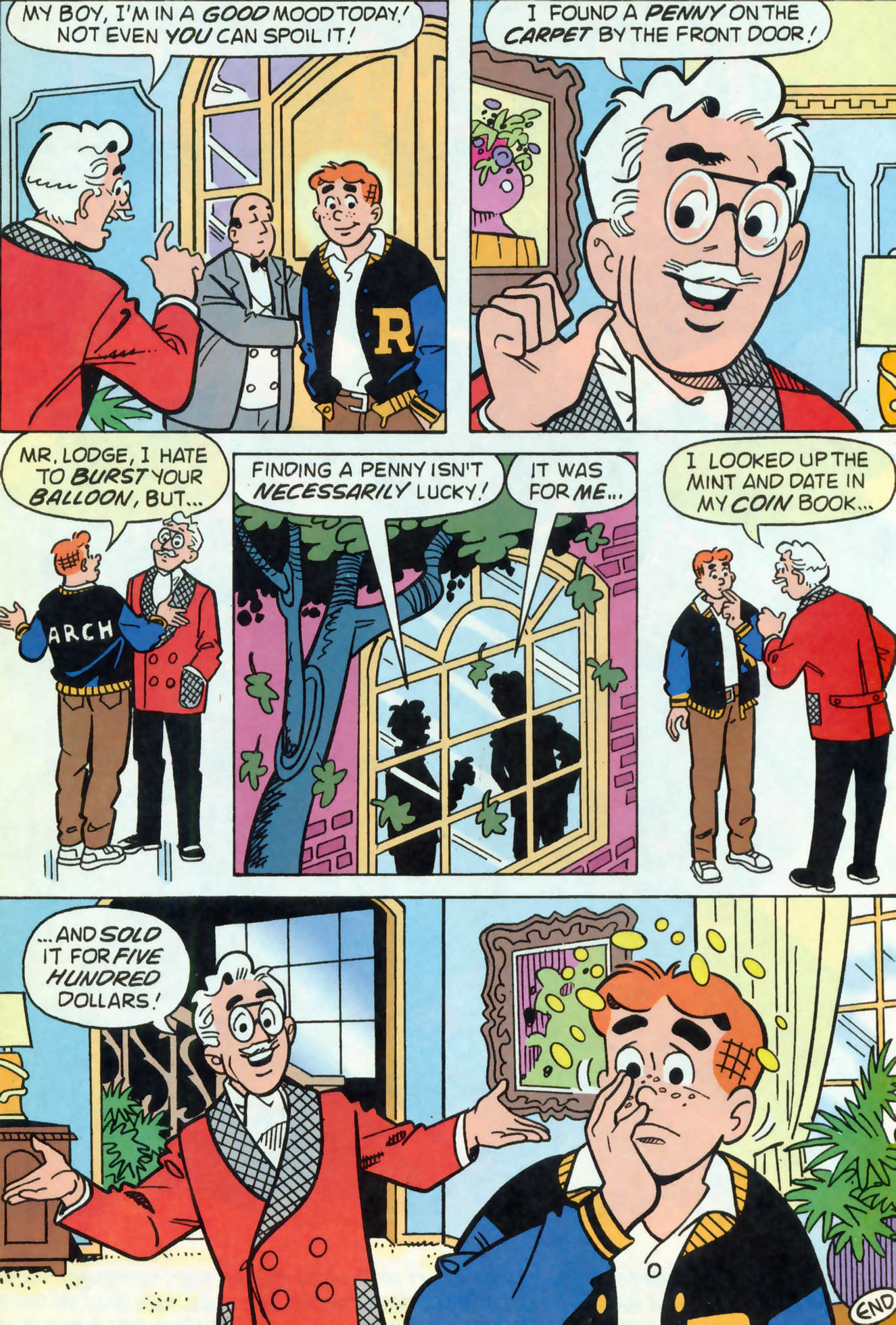 Read online Archie (1960) comic -  Issue #466 - 24