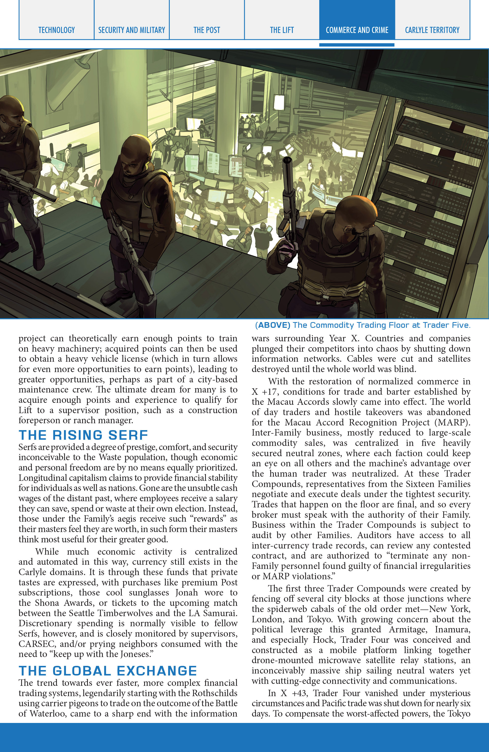 Read online Lazarus Sourcebook comic -  Issue # Vol. 1 - 13