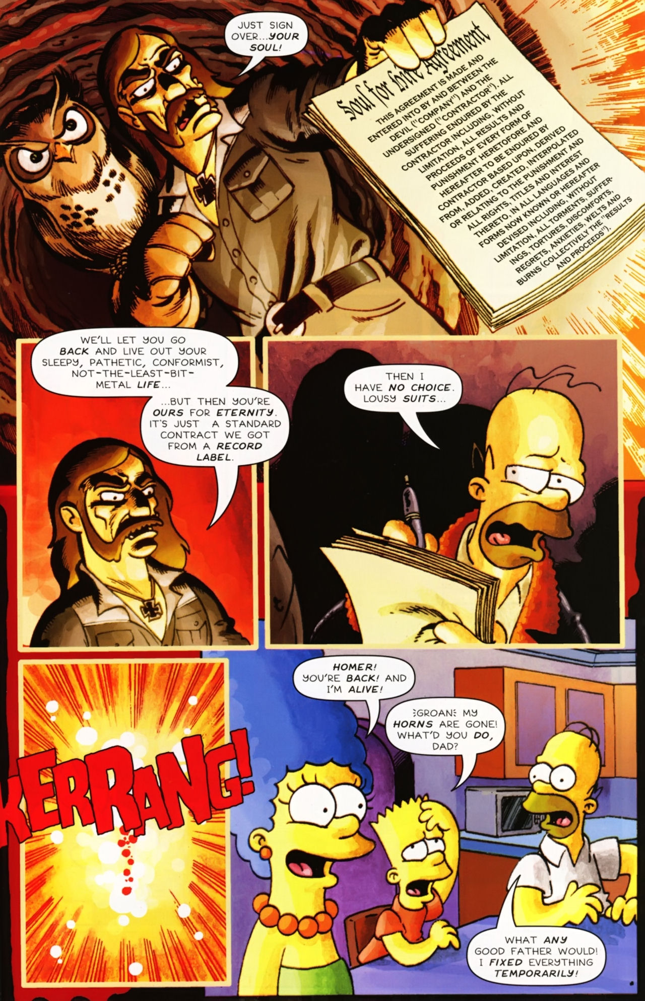 Read online Treehouse of Horror comic -  Issue #16 - 50