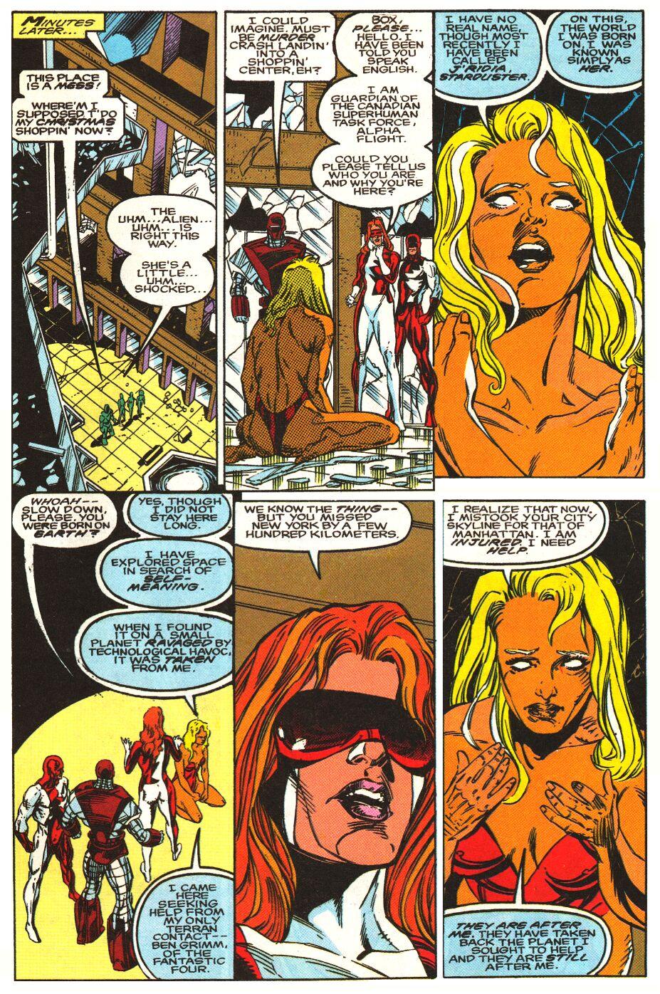 Read online Alpha Flight Special comic -  Issue #1 - 16