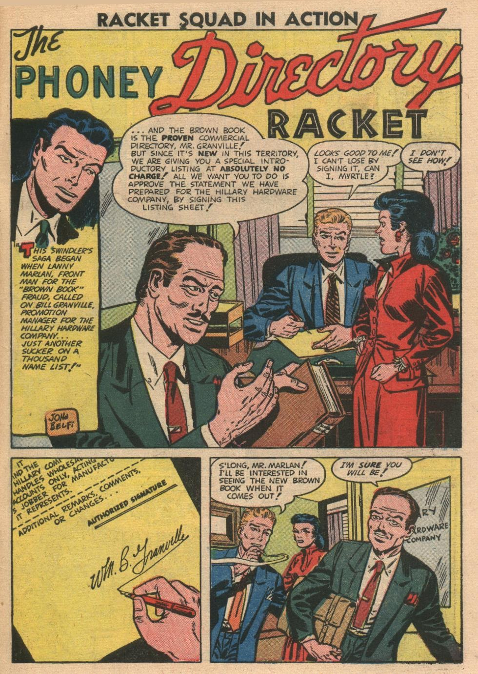 Read online Racket Squad in Action comic -  Issue #2 - 31
