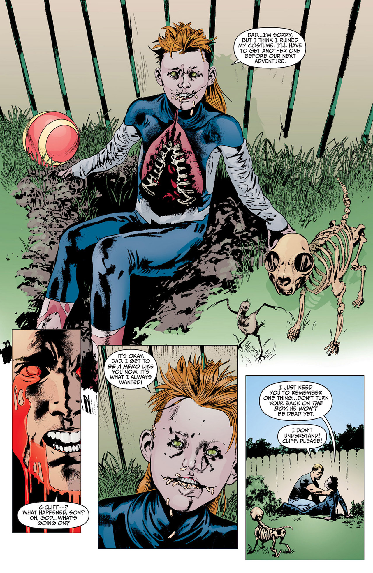 Read online Animal Man (2011) comic -  Issue #15 - 16