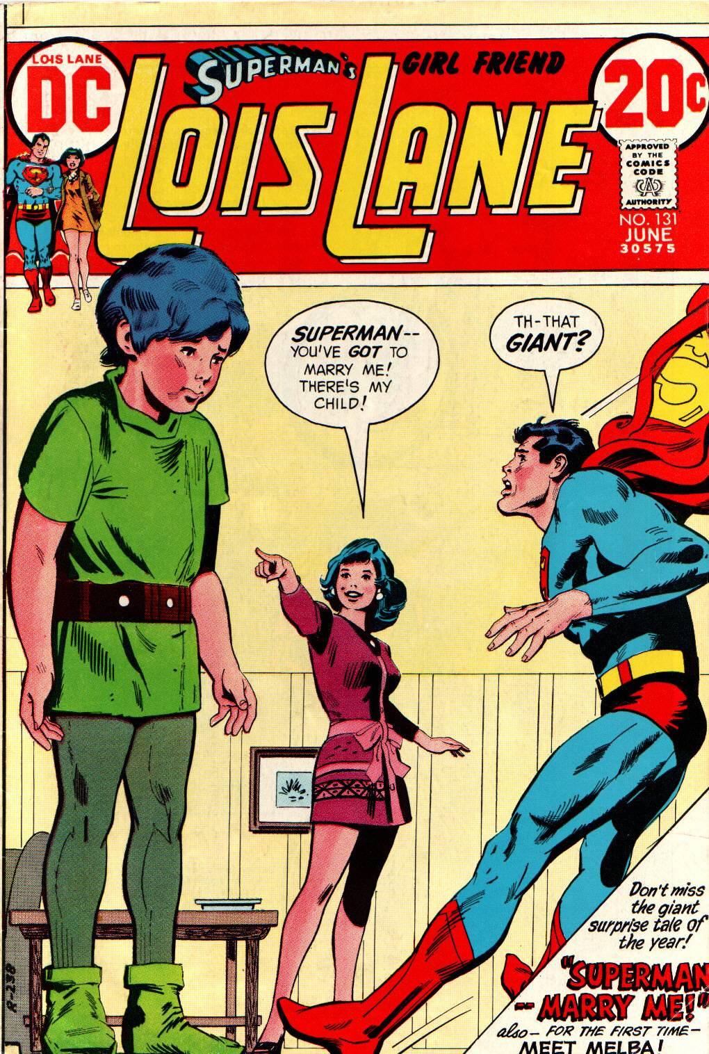 Supermans Girl Friend, Lois Lane 131 Page 1