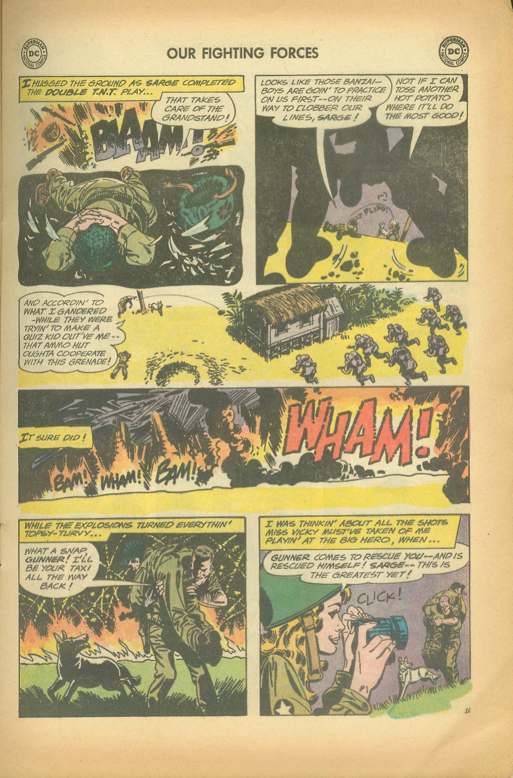 Our Fighting Forces (1954) issue 65 - Page 13