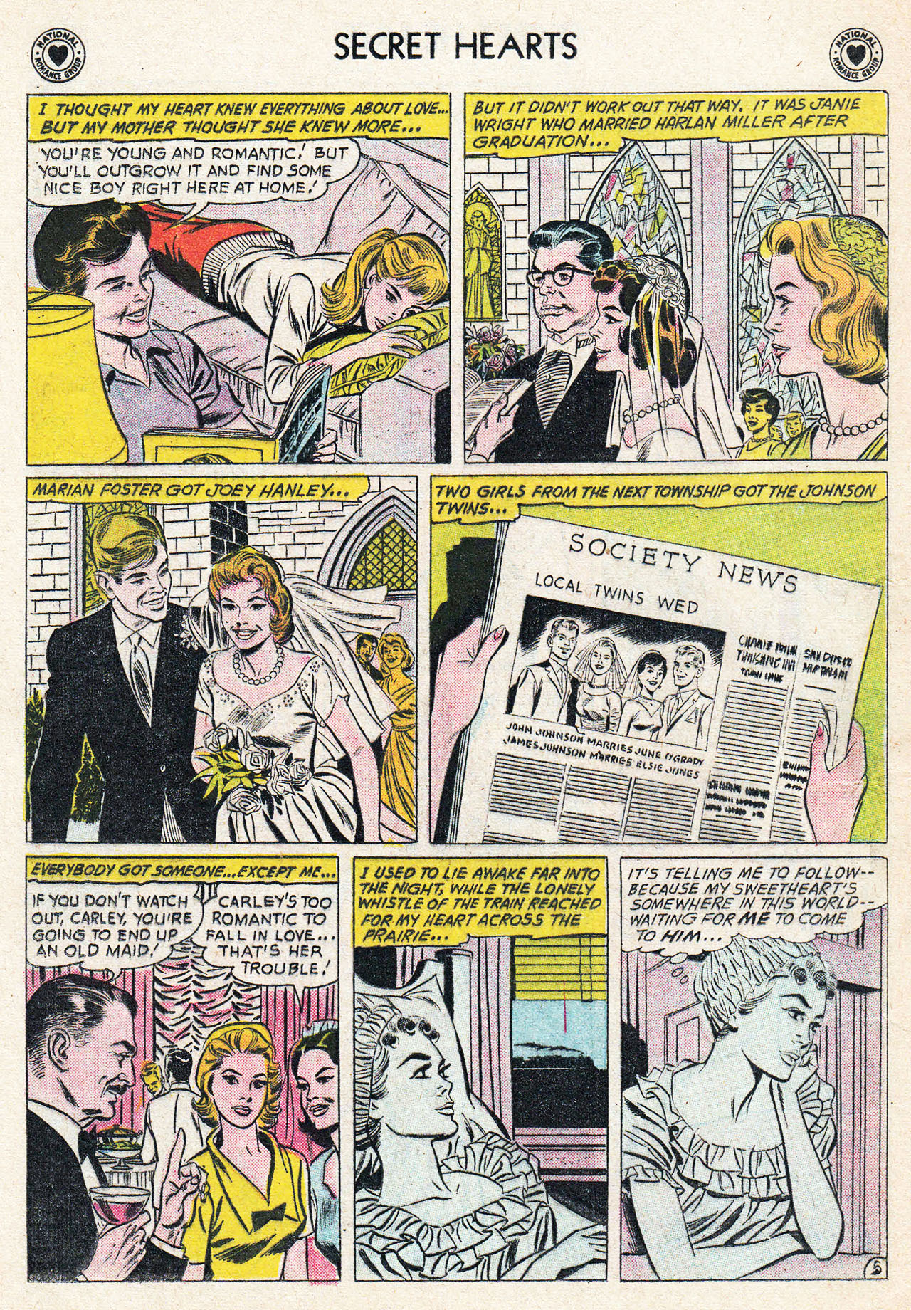 Read online Secret Hearts comic -  Issue #75 - 14