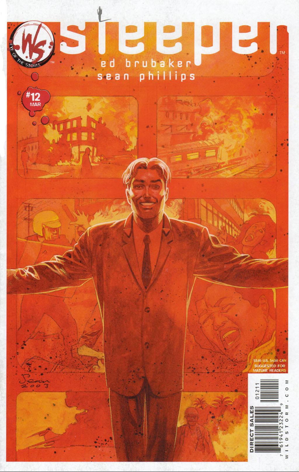Read online Sleeper comic -  Issue #12 - 2