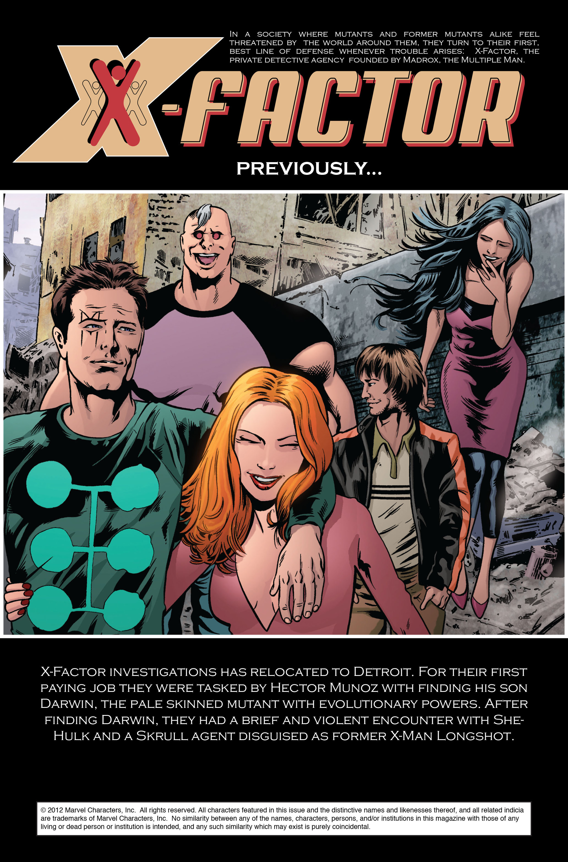 Read online X-Factor (2006) comic -  Issue #35 - 2