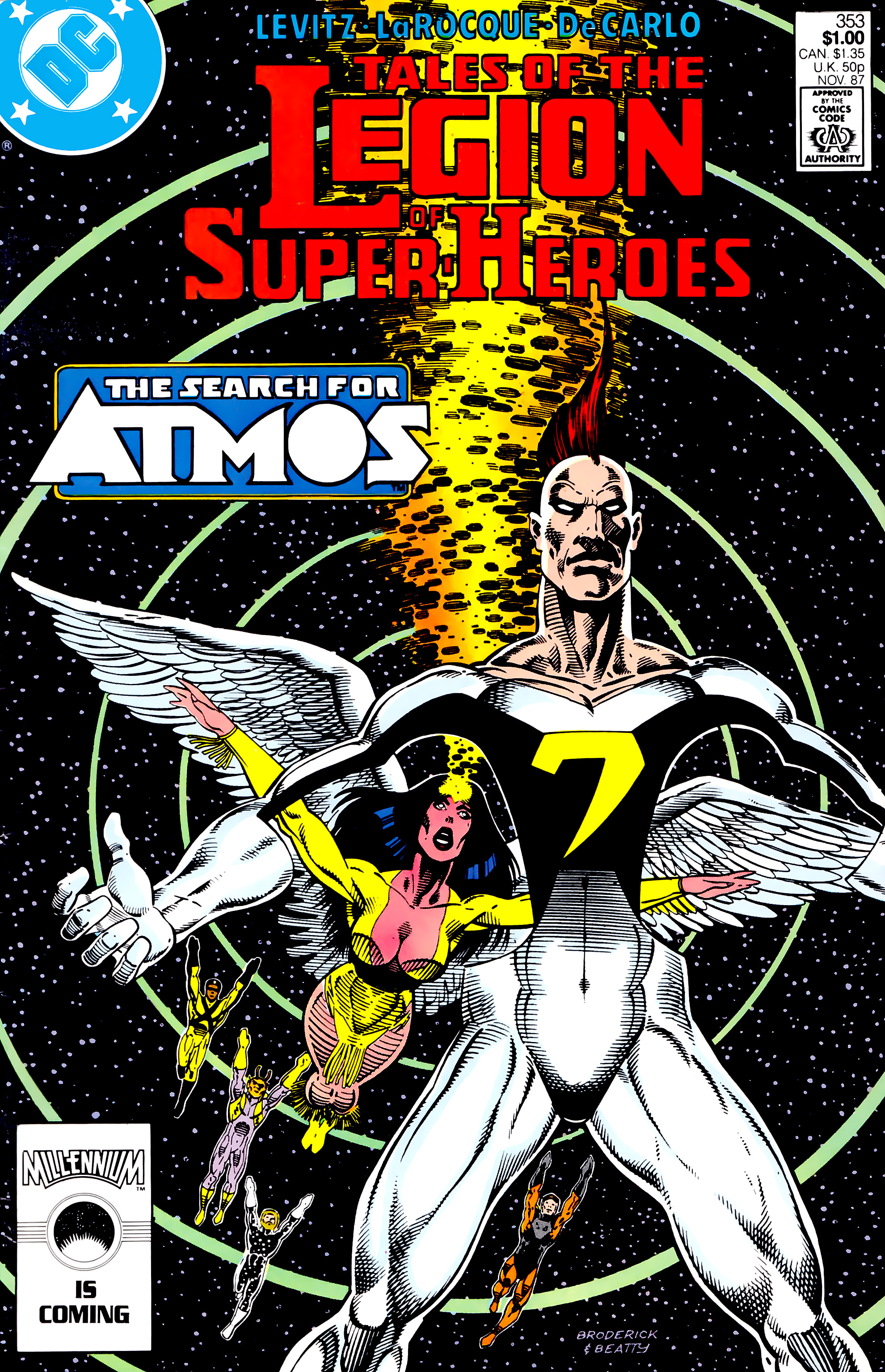 Legion of Super-Heroes (1984) 28 Page 1