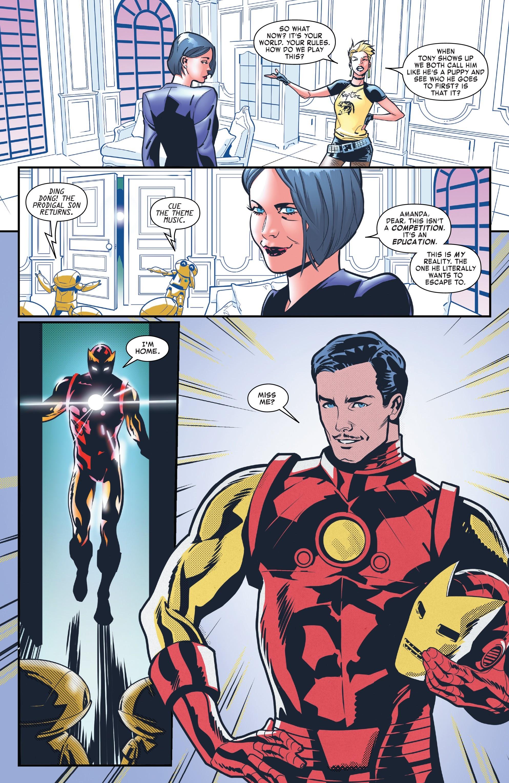 Read online Tony Stark: Iron Man comic -  Issue #8 - 20