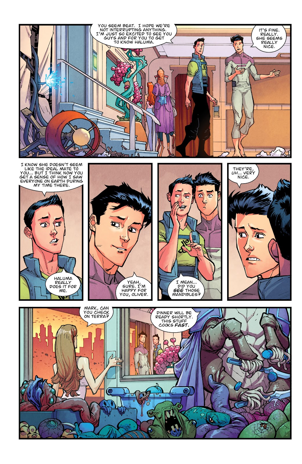 Invincible (2003) issue TPB 21 - Modern Family - Page 75
