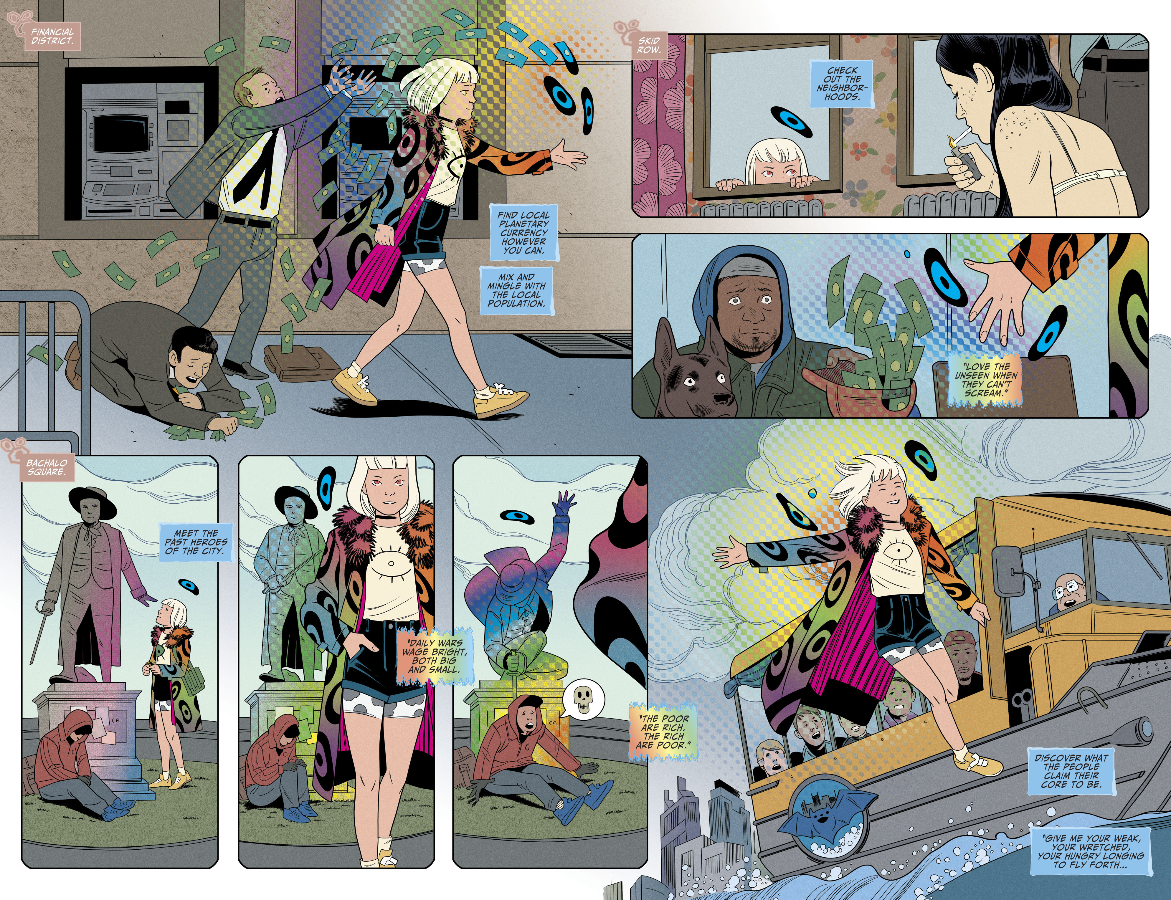 Read online Shade, the Changing Girl comic -  Issue #8 - 9