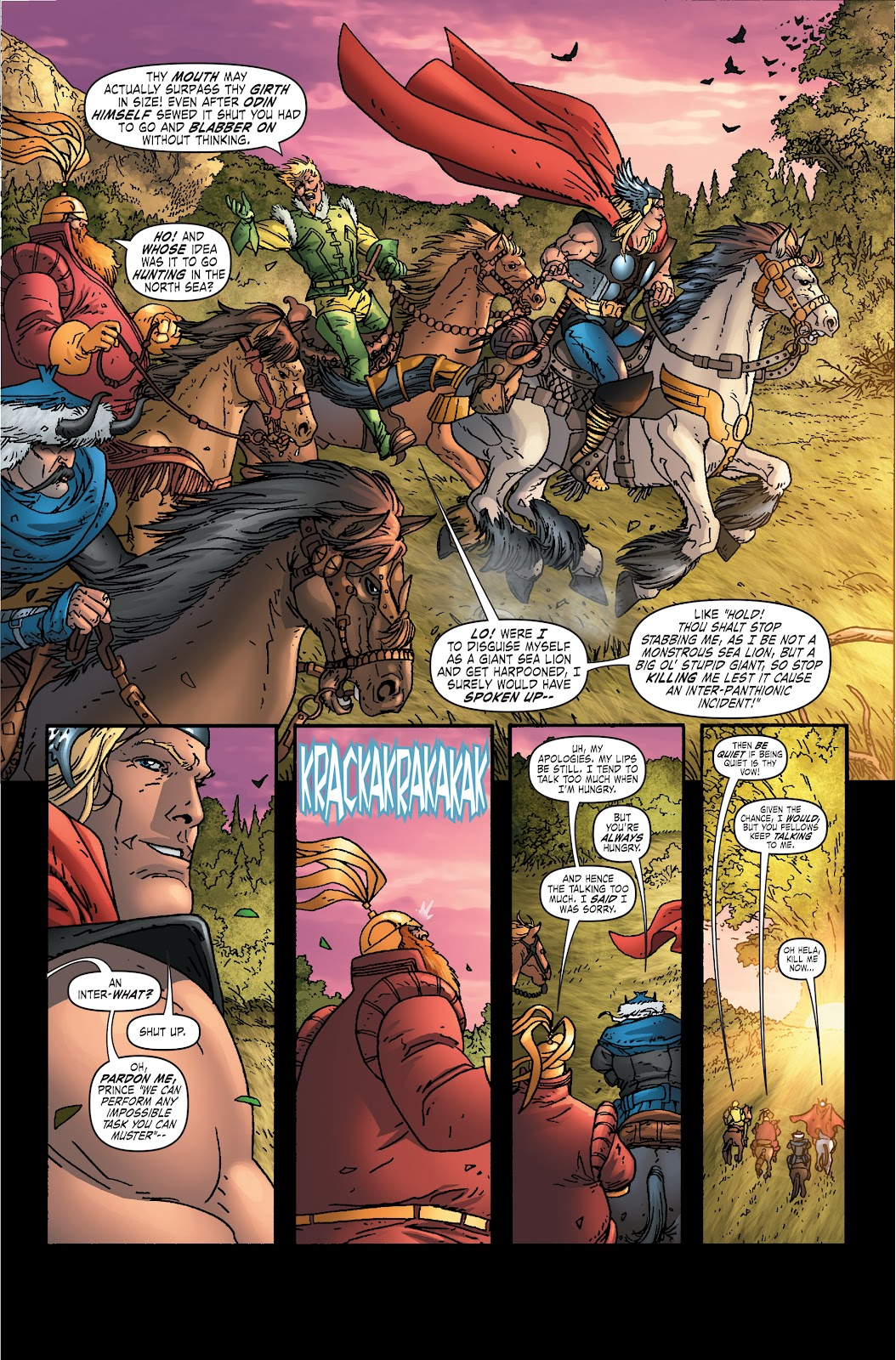 Read online Thor: Ragnaroks comic -  Issue # TPB (Part 1) - 27