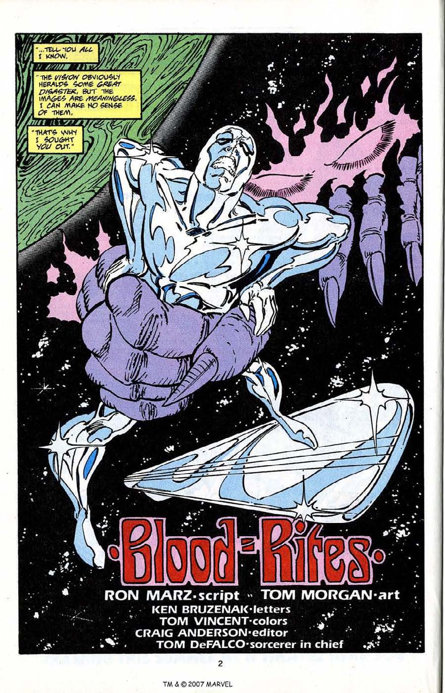 Read online Silver Surfer (1987) comic -  Issue # _Annual 5 - 4