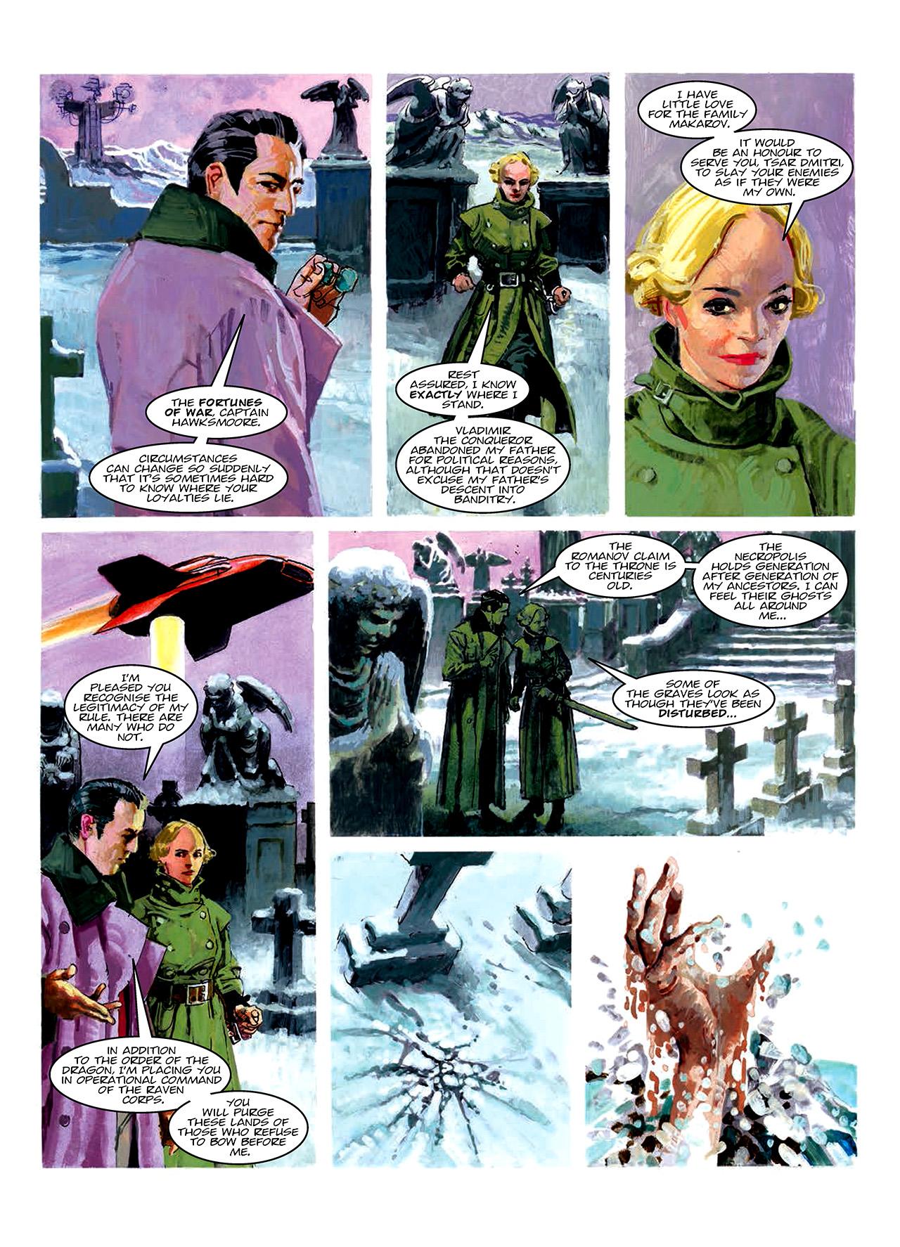 Read online Nikolai Dante comic -  Issue # TPB 10 - 161