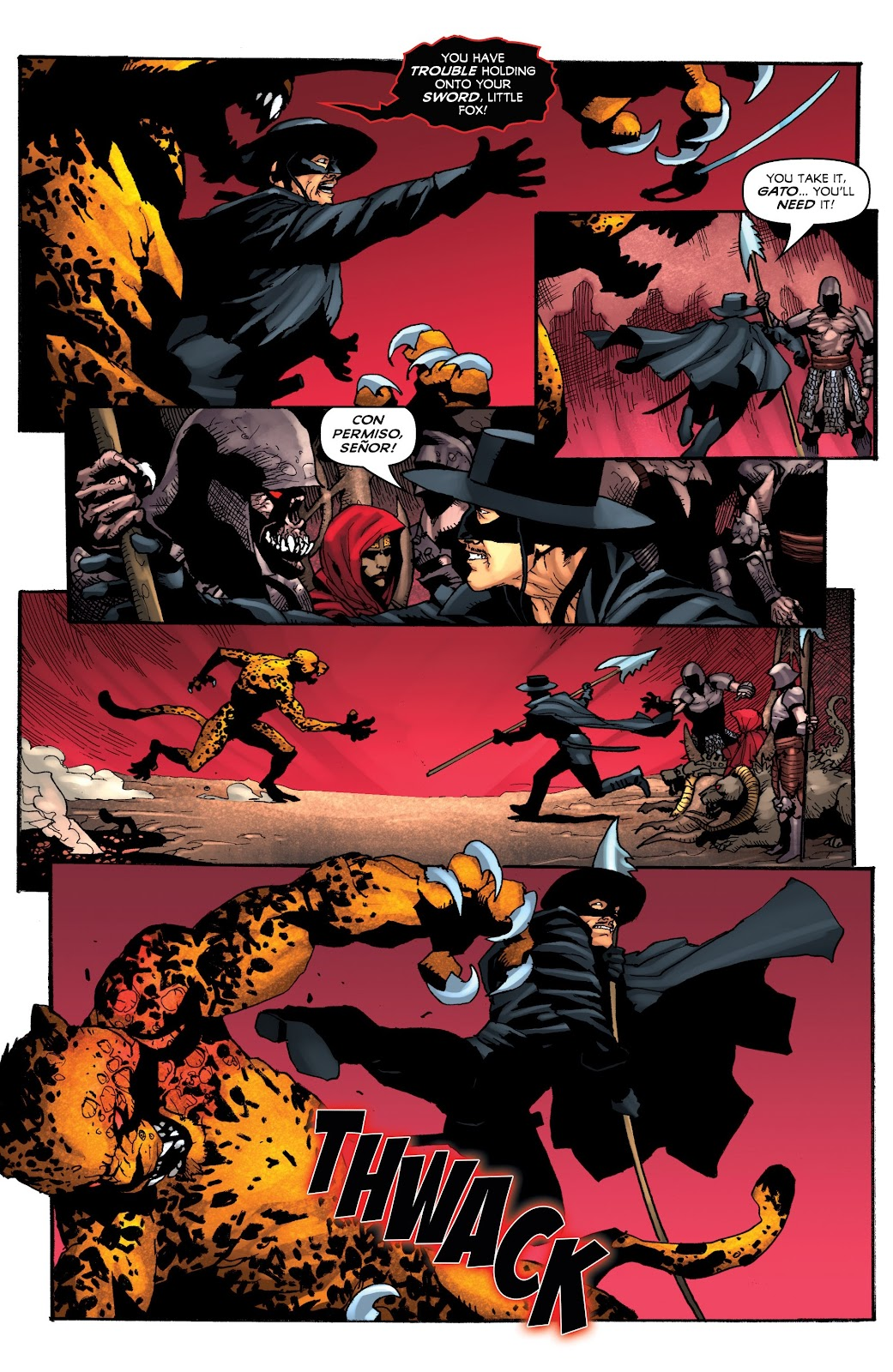 Read online Zorro: Swords of Hell comic -  Issue #4 - 17