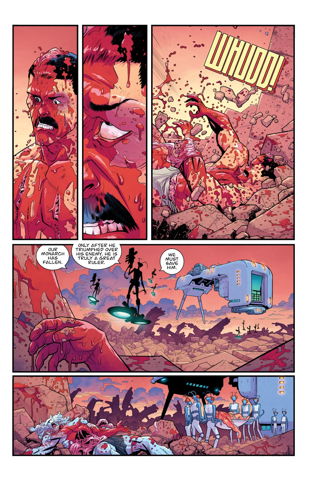 Invincible (2003) issue TPB 21 - Modern Family - Page 112