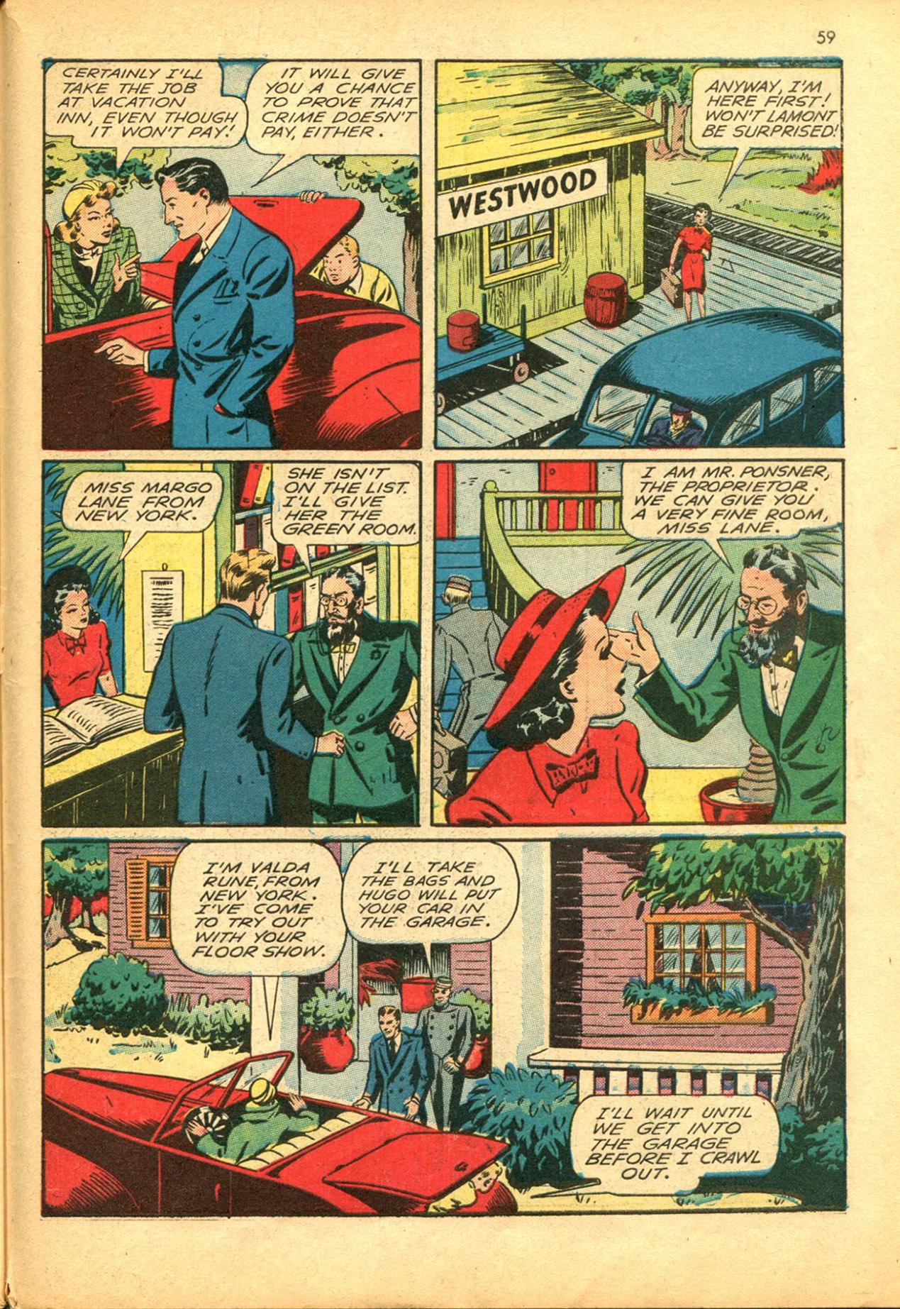 Read online Shadow Comics comic -  Issue #30 - 59