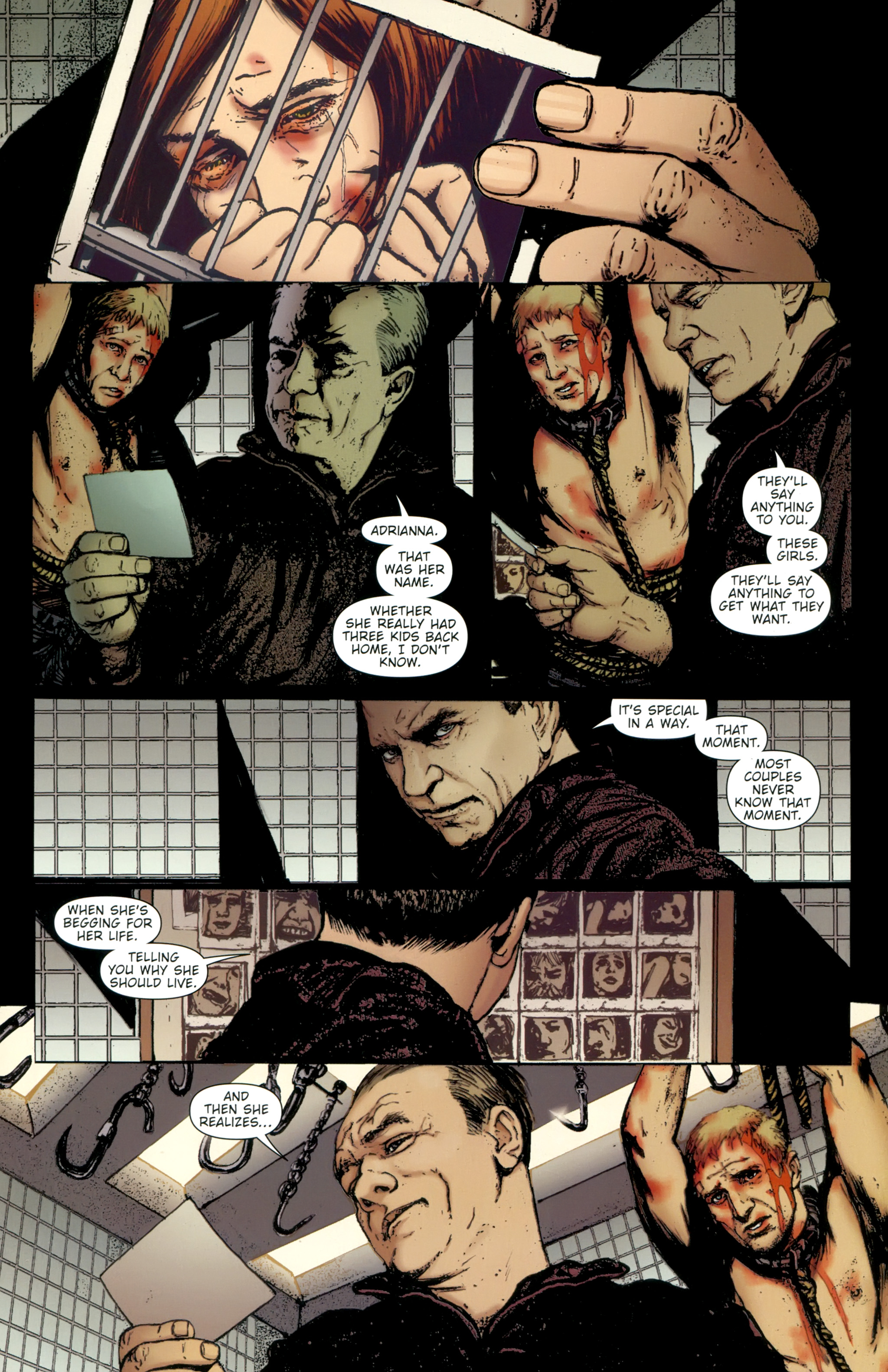Read online The Girl With the Dragon Tattoo comic -  Issue # TPB 2 - 91