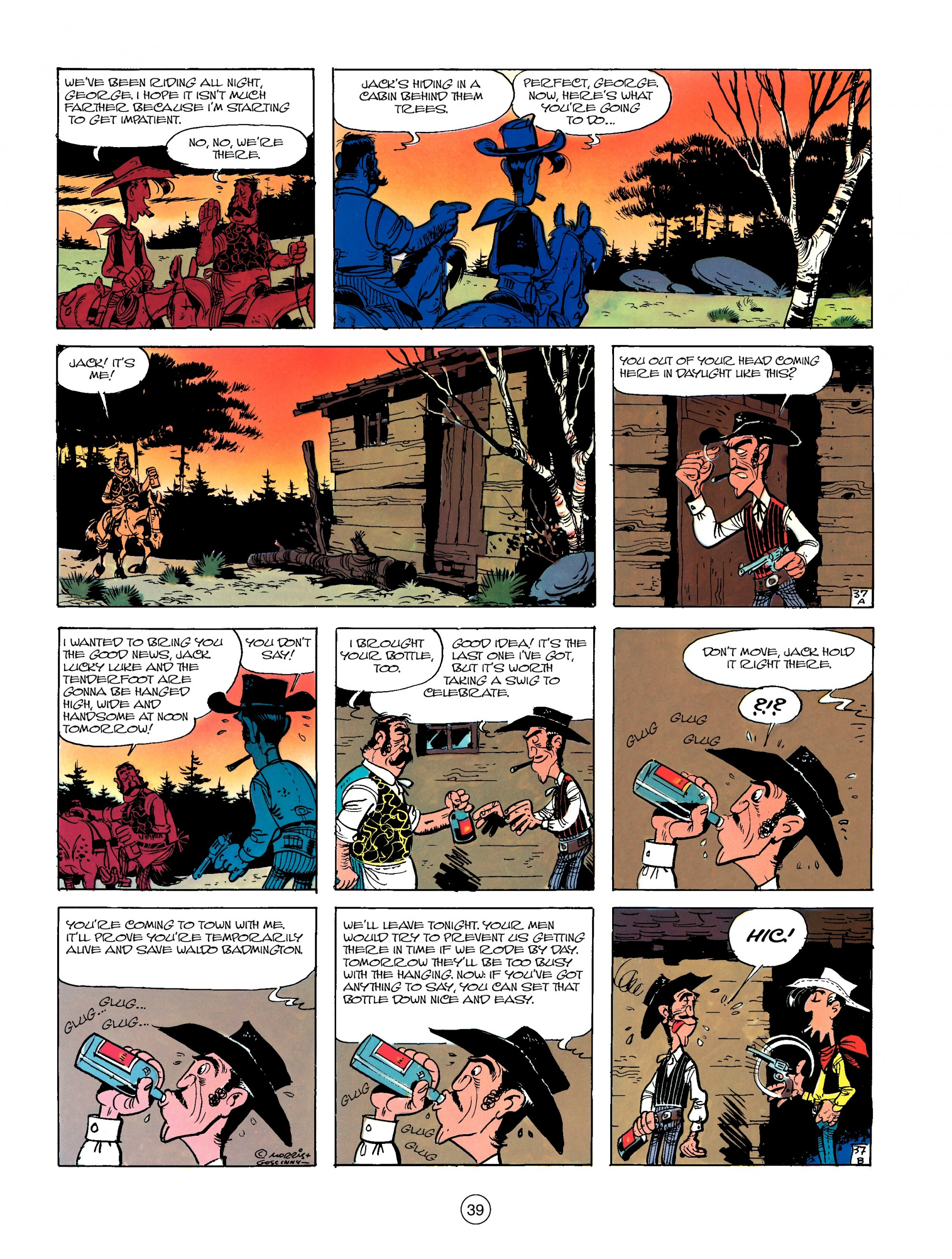 Read online A Lucky Luke Adventure comic -  Issue #13 - 39